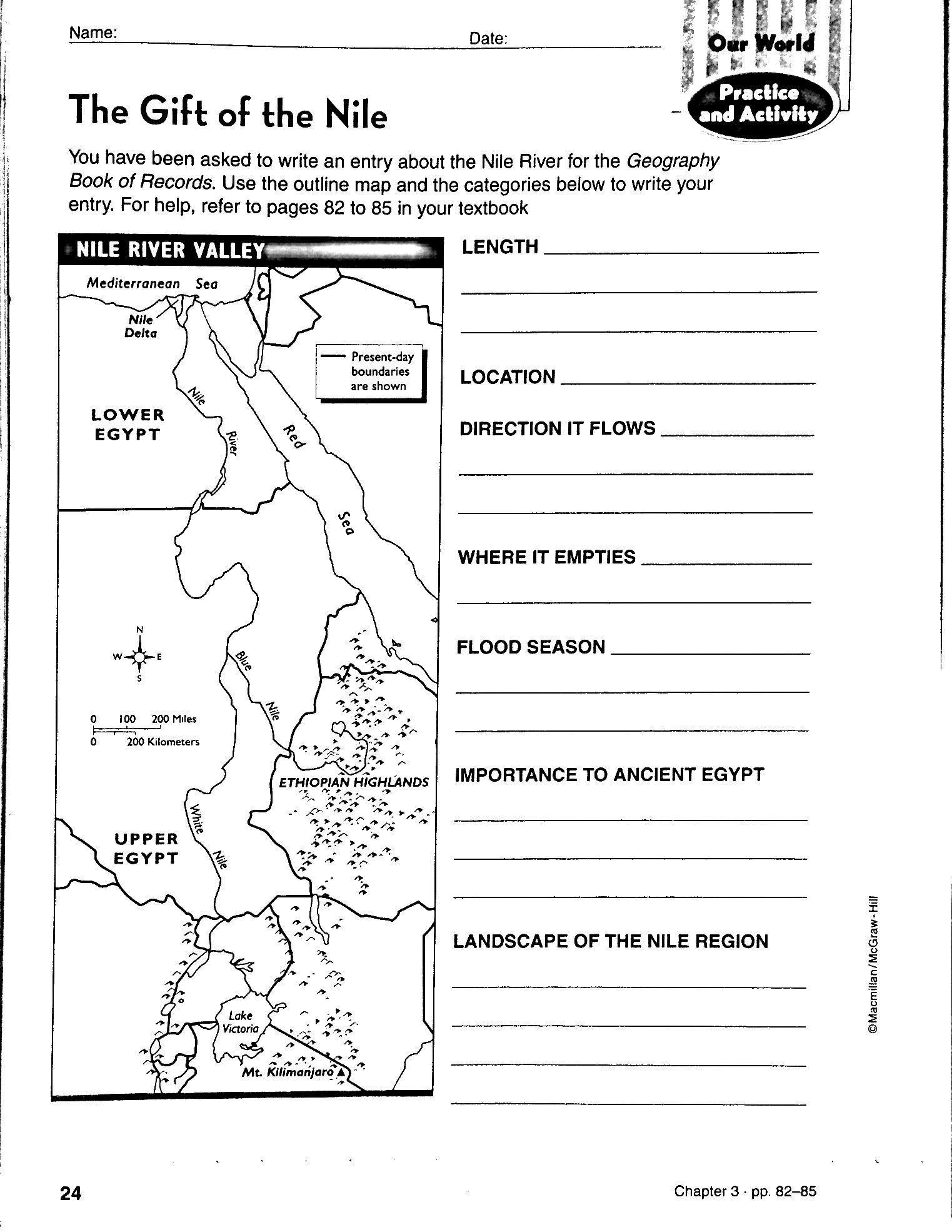 3rd Grade social Studies Worksheet 3rd Grade social Stu S Worksheets with Answer Pdf 10th