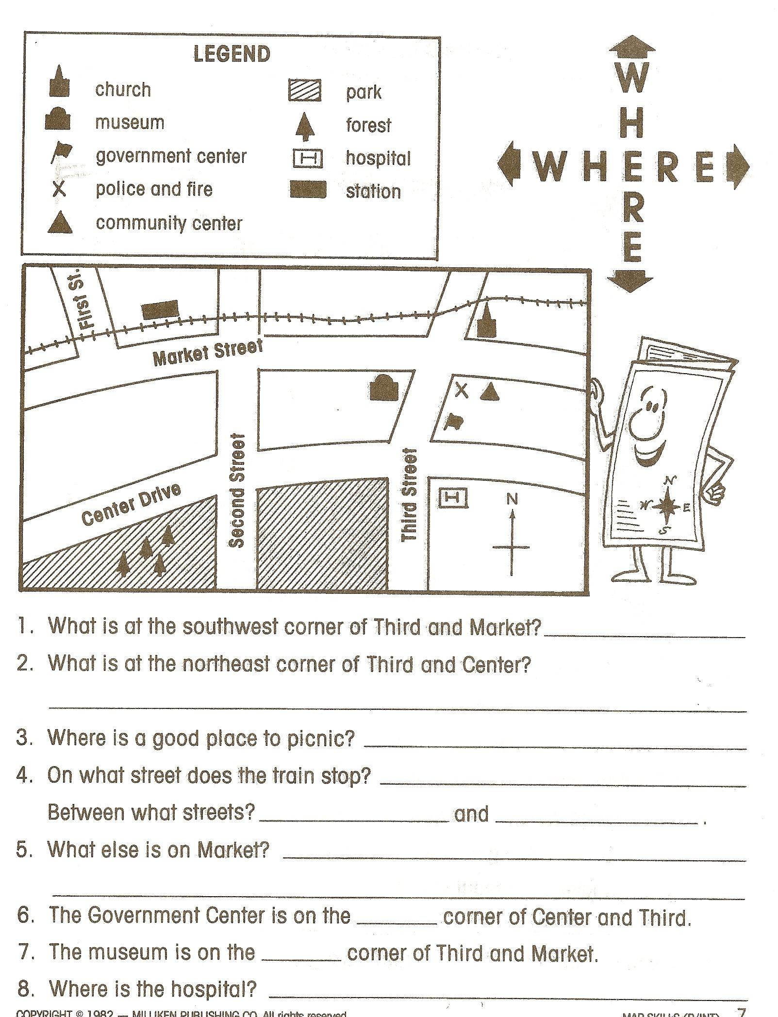3rd Grade social Studies Worksheet social Stu S Worksheets Google Search