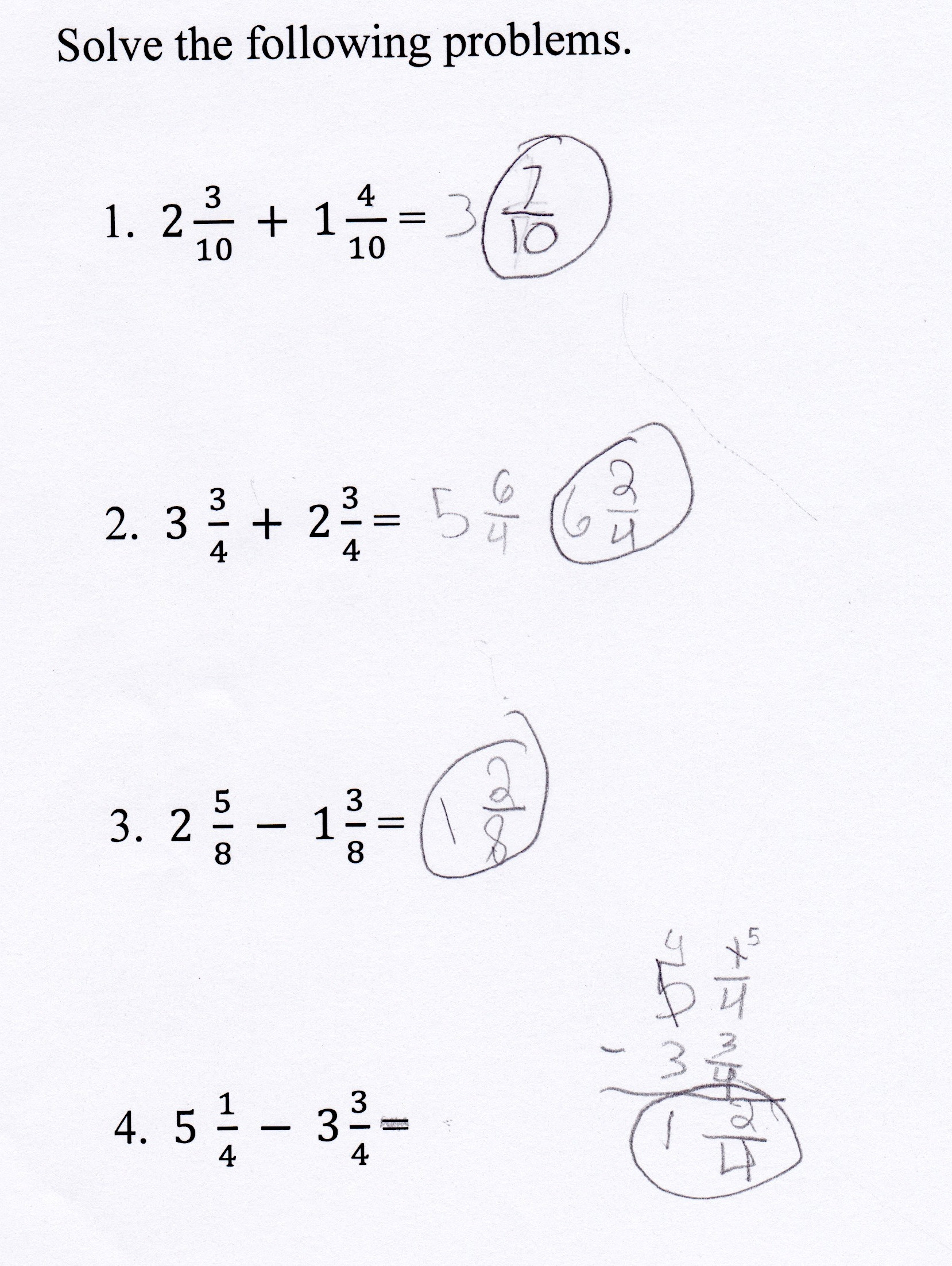 Adding Mixed Numbers Worksheet How Do You Add Fractions with whole Numbers