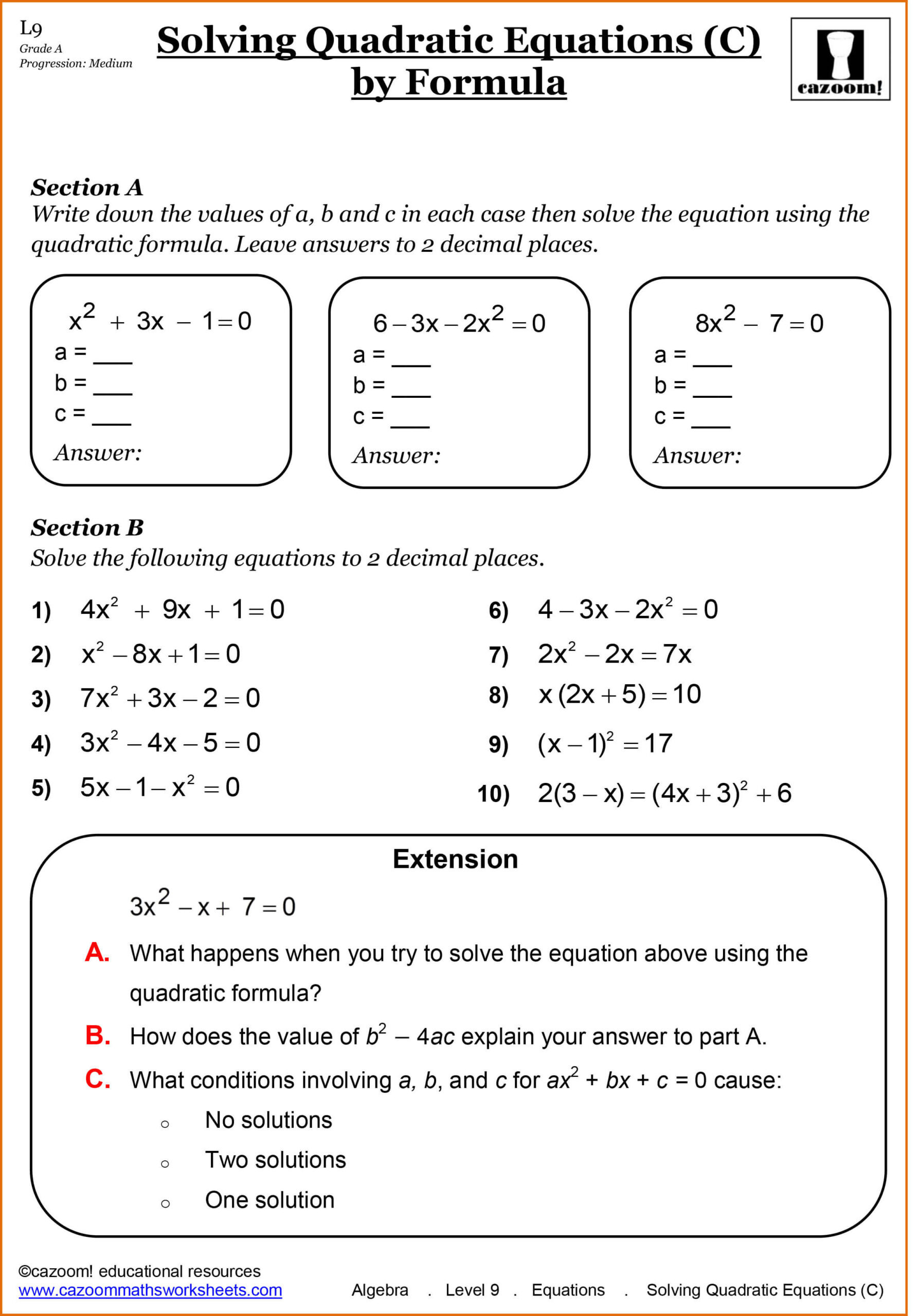 Algebra 1 Functions Worksheet Year Maths Worksheets Cazoom Grade Math Functions Algebra