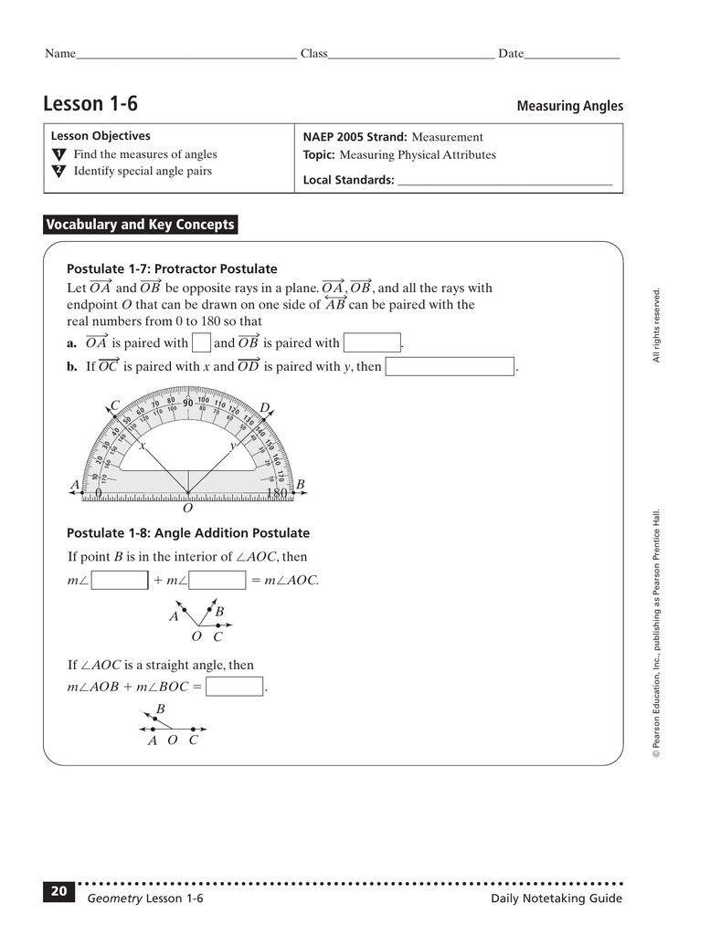 Angle Addition Postulate Worksheet 3 Angle Addition Postulate Worksheet 2 In 2020