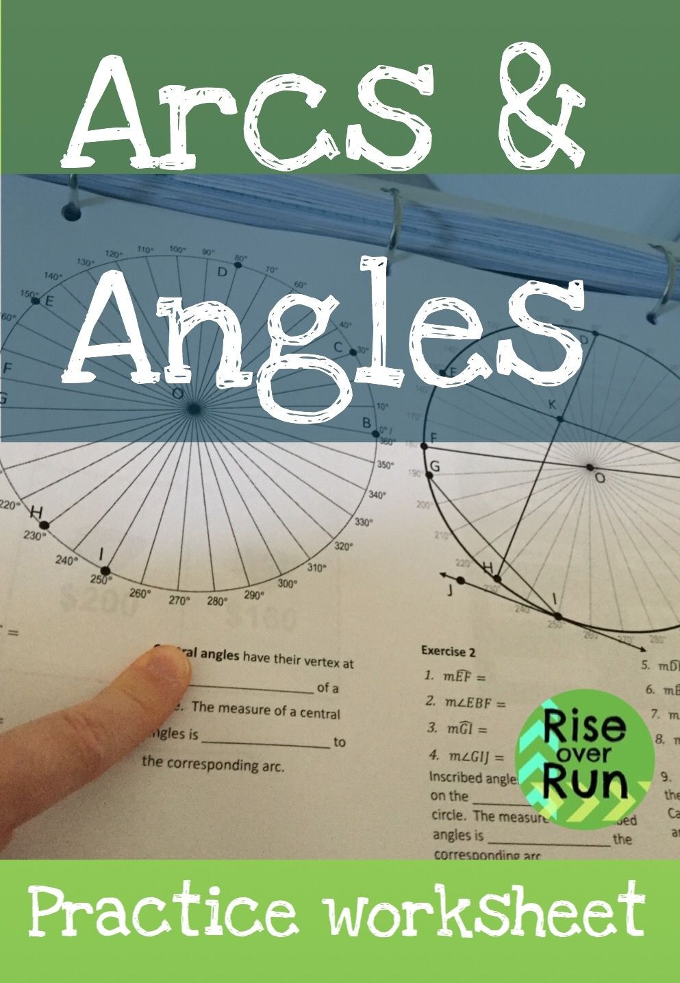 Angles In Circles Worksheet Arcs and Angles In Circles Worksheet Great Way to Explore