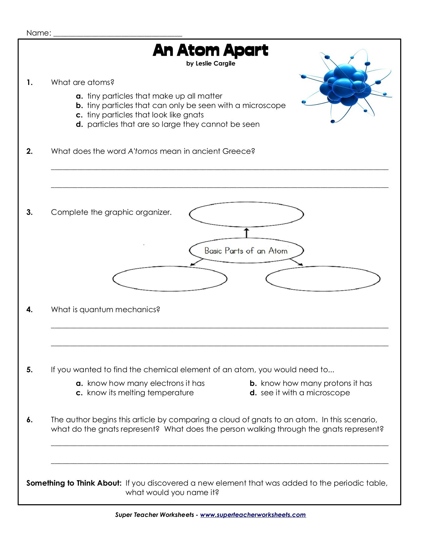 Basic atomic Structure Worksheet Answers atomic Structure and Electrons In atoms Pages 1 5 Text