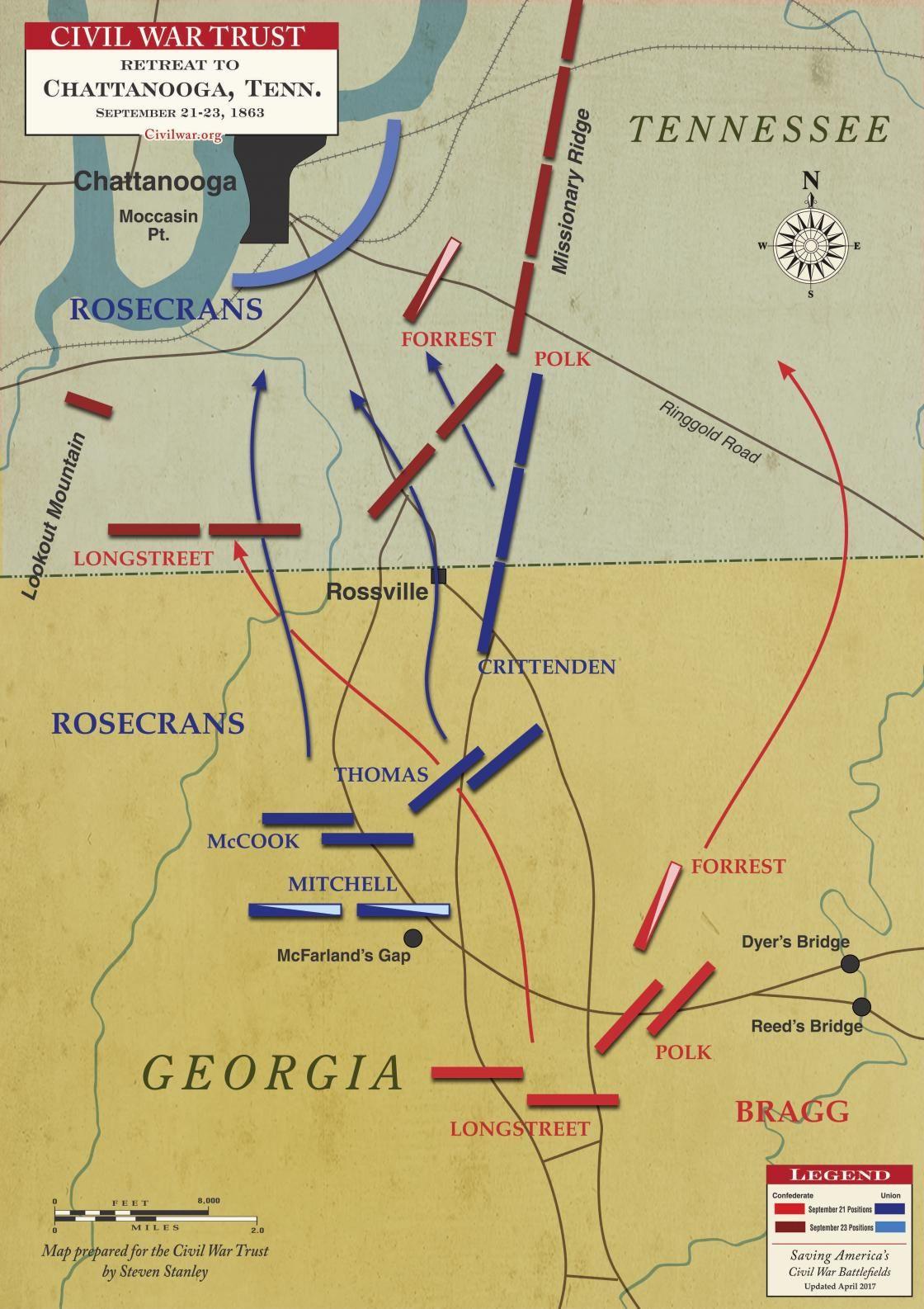Civil War Map Worksheet Road to Chattanooga