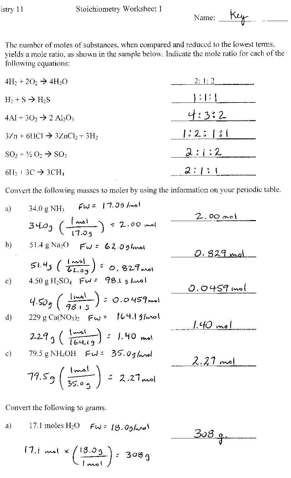 Composition Of Matter Worksheet Answers Point Grey Secondary School General Chemistry Worksheets and
