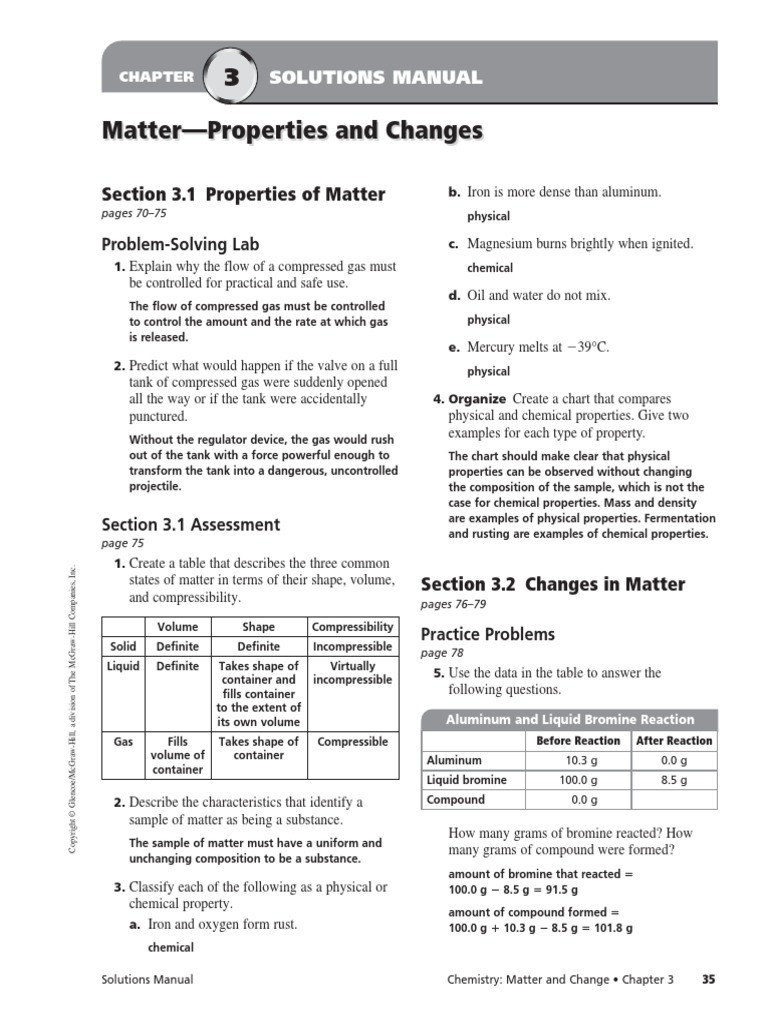 Composition Of Matter Worksheet Answers Position Matter Worksheet Answers Worksheet List