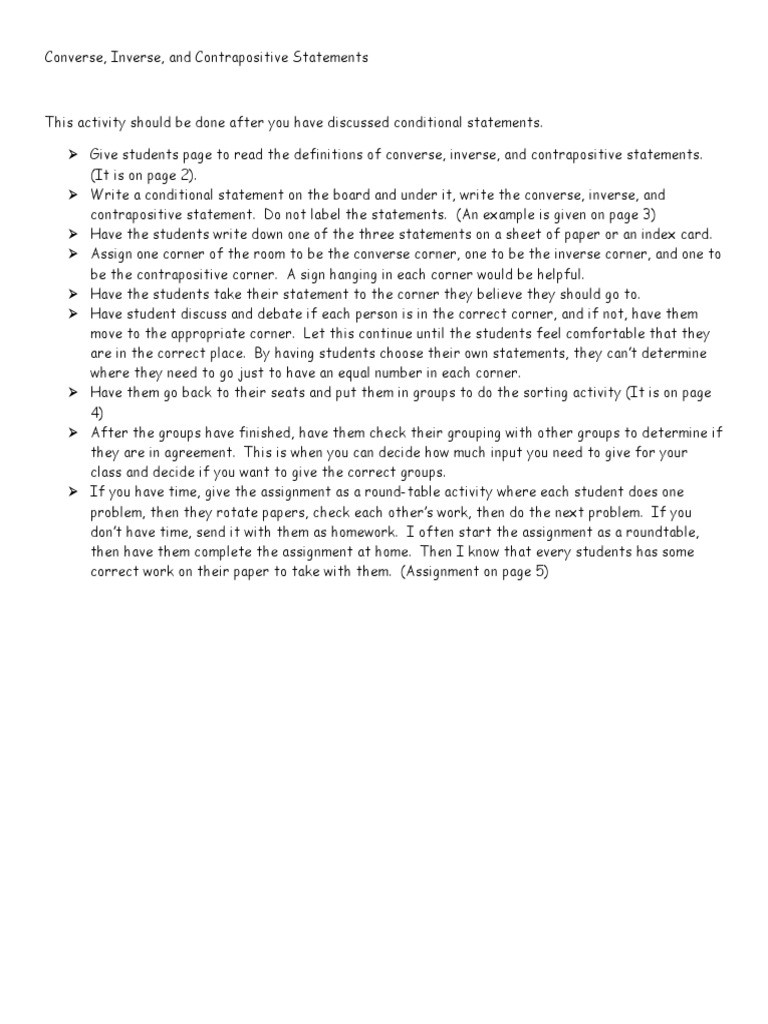 Conditional Statements Worksheet with Answers Conditional Statements Worksheets Pdf theorem