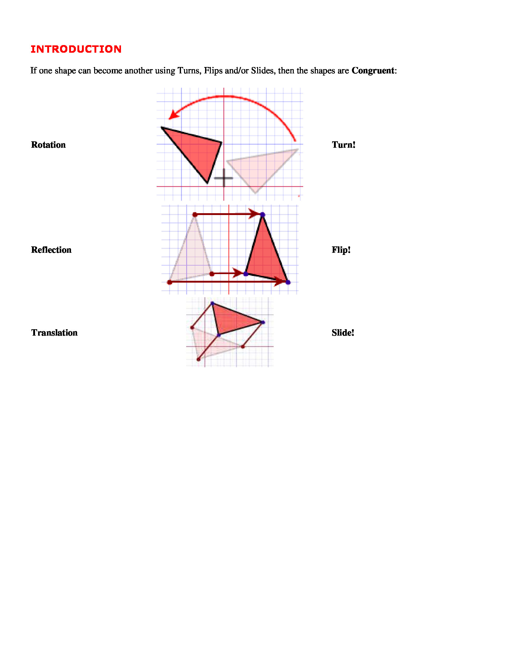 Congruent Triangles Worksheet Answer Key Congruence Triangles