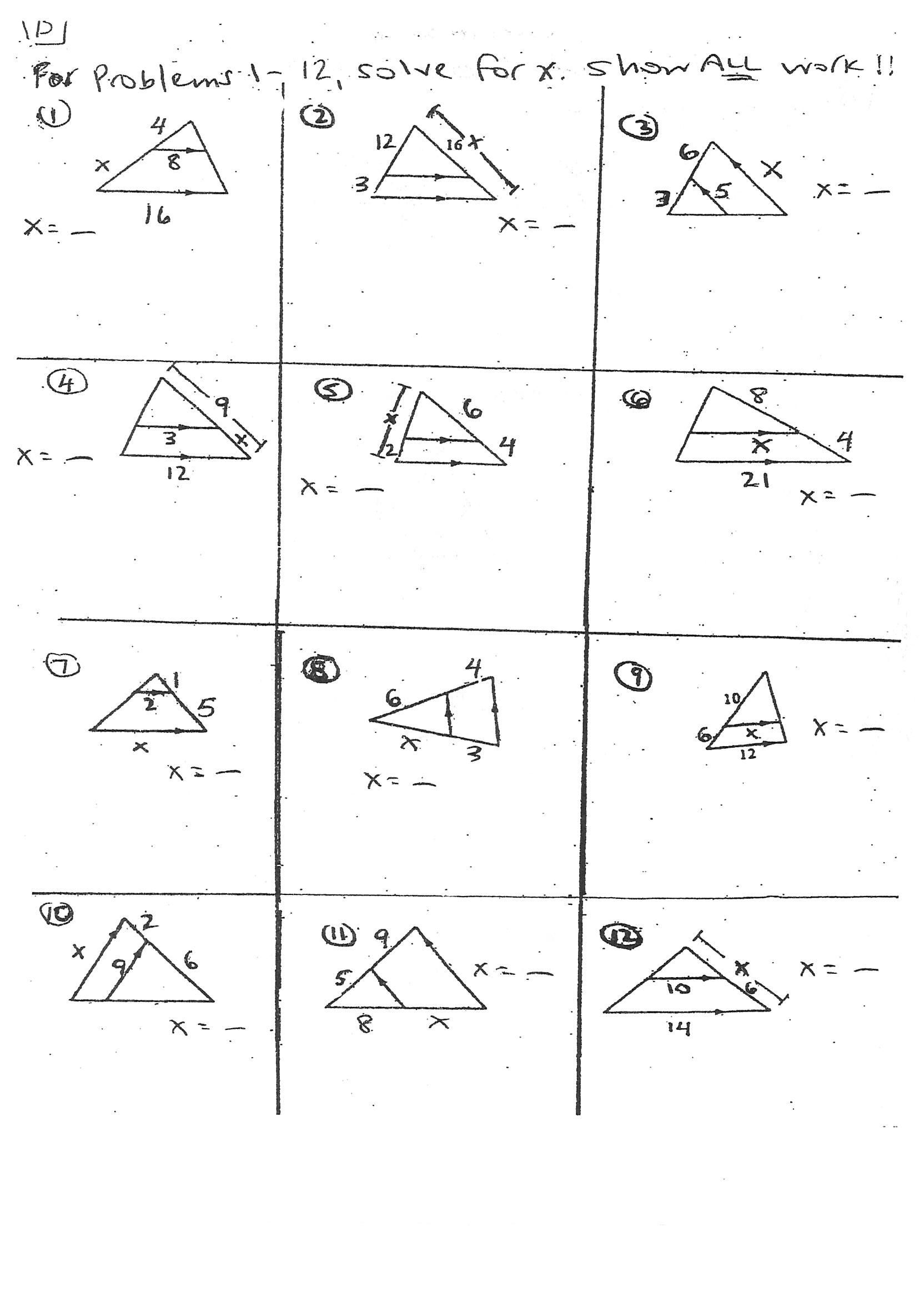Congruent Triangles Worksheet with Answers Image Result for Triangle Midsegments Worksheet