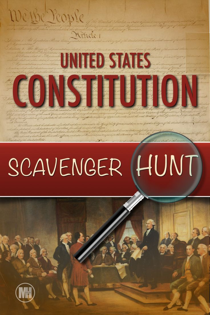 Constitution Scavenger Hunt Worksheet Constitution Day Activities Scavenger Hunt A Primary