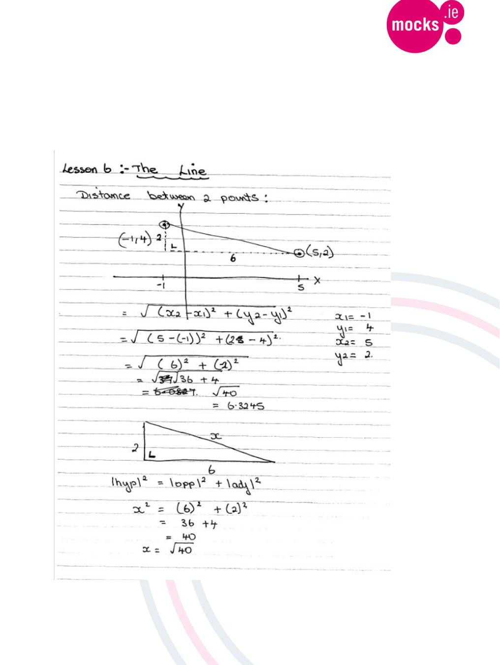 Distance and Midpoint formula Worksheet Geometry the Line 1 Enotes Distance formula Midpoint