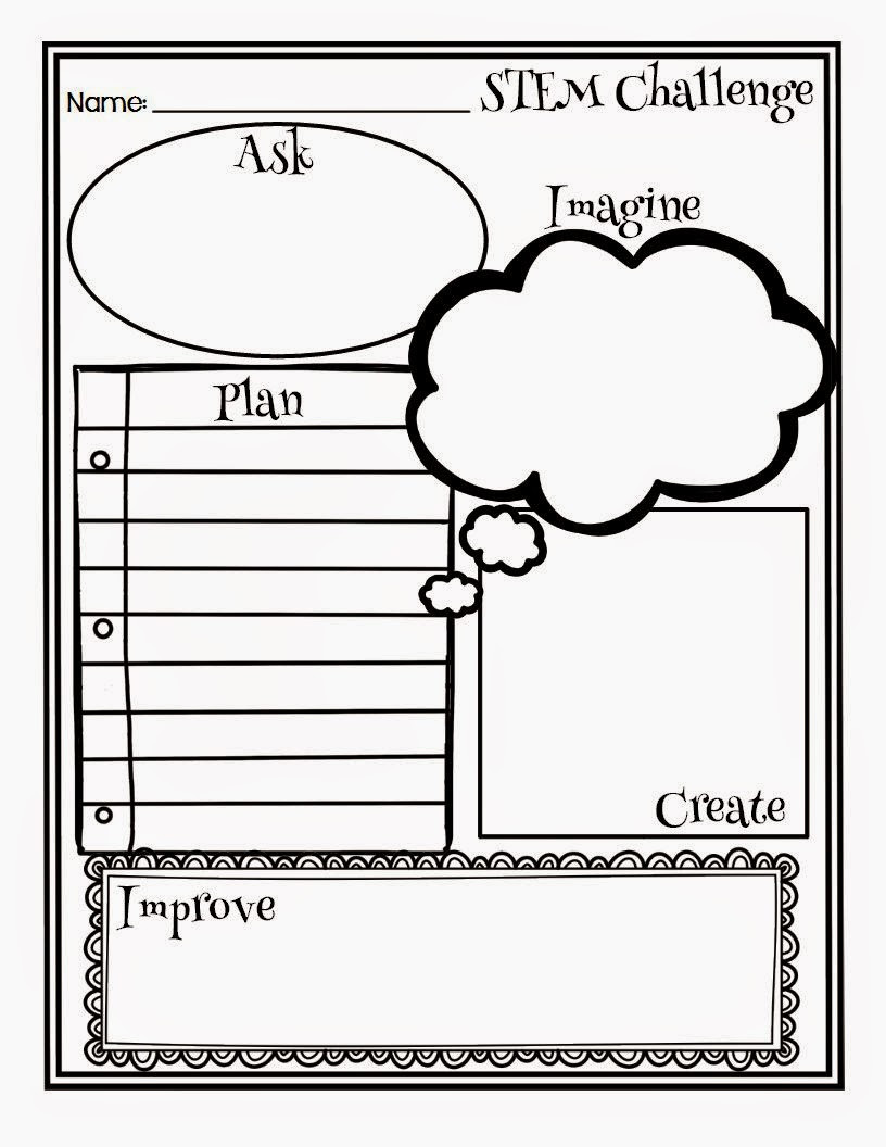 Engineering Design Process Worksheet Engineering On A Dime 3 Stem Challenges You Can Do today