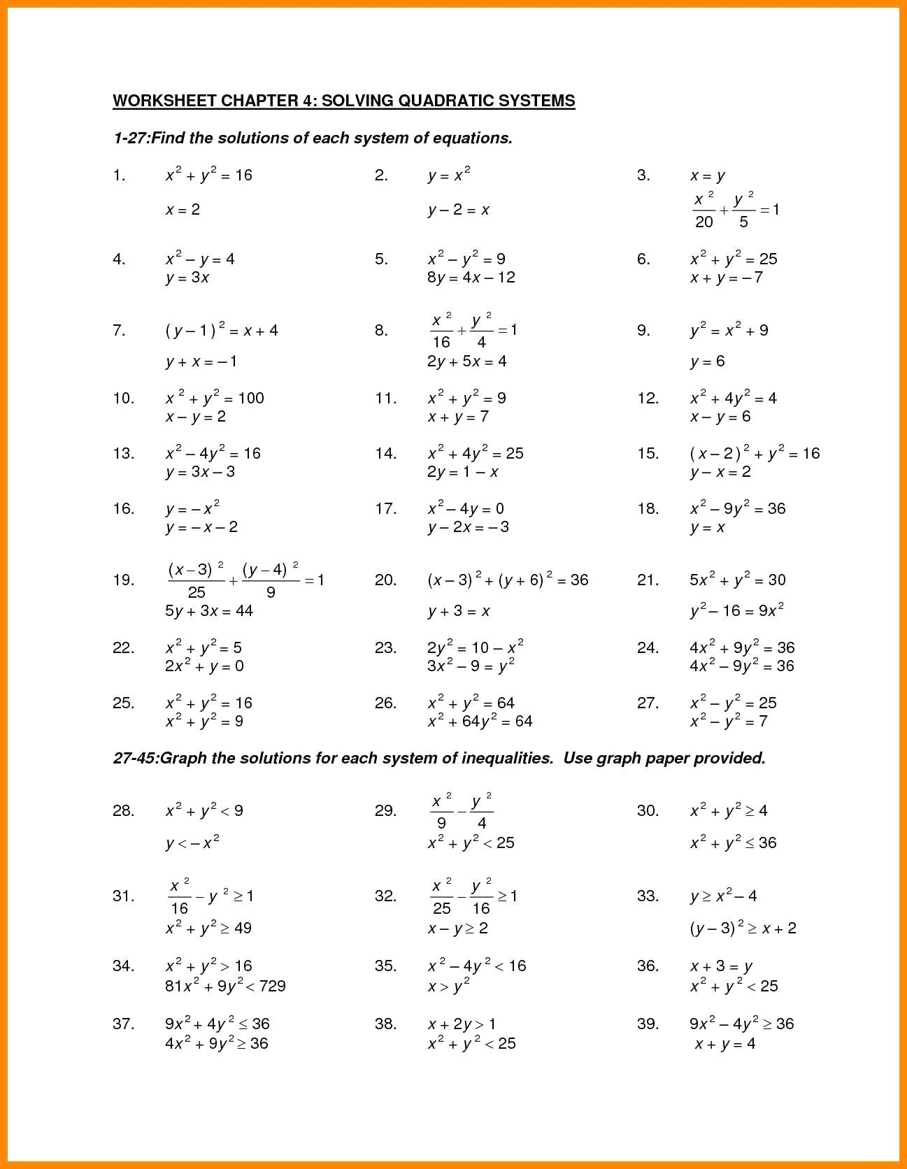 Factoring Quadratic Expressions Worksheet Factoring Trinomials Puzzle Worksheet