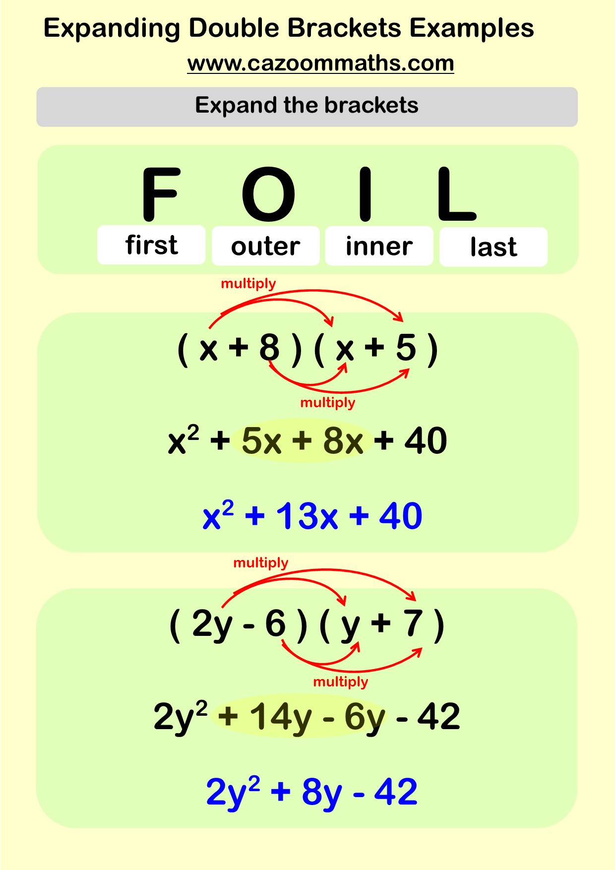 Factoring Quadratic Expressions Worksheet Ks3 and Ks4 Factorising Worksheets