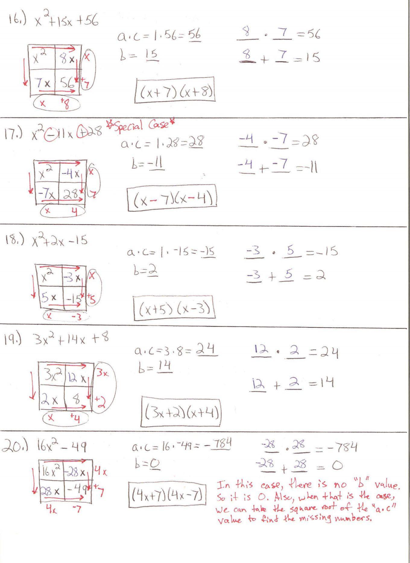 Factoring Trinomials Worksheet Algebra 2 Factoring Polynomials Worksheet Maze