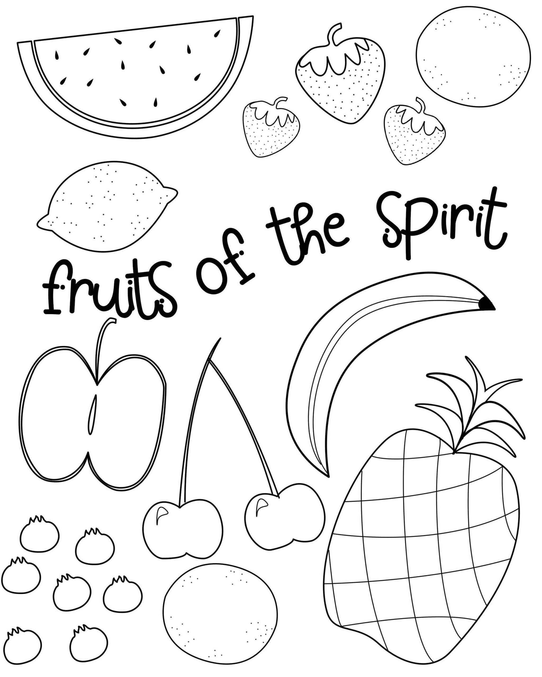 "Fruits Of the Spirit Worksheet Walk In the Spirit"" September 23–29 Galatians Sunday School"