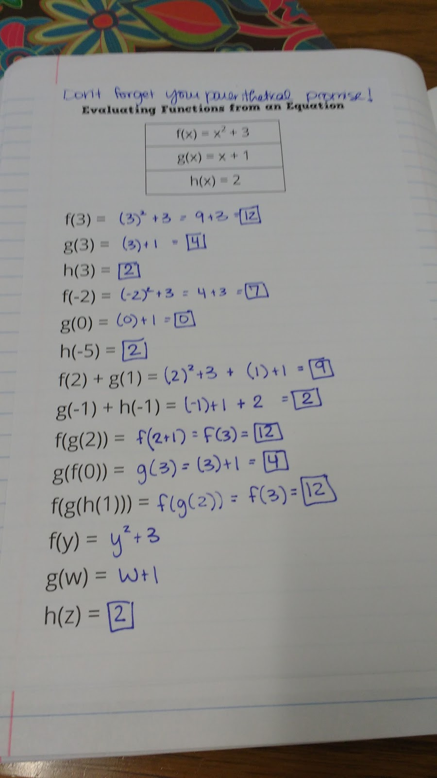 Function Notation Worksheet Answers Math = Love Algebra 1 Unit 3 Relations and Functions