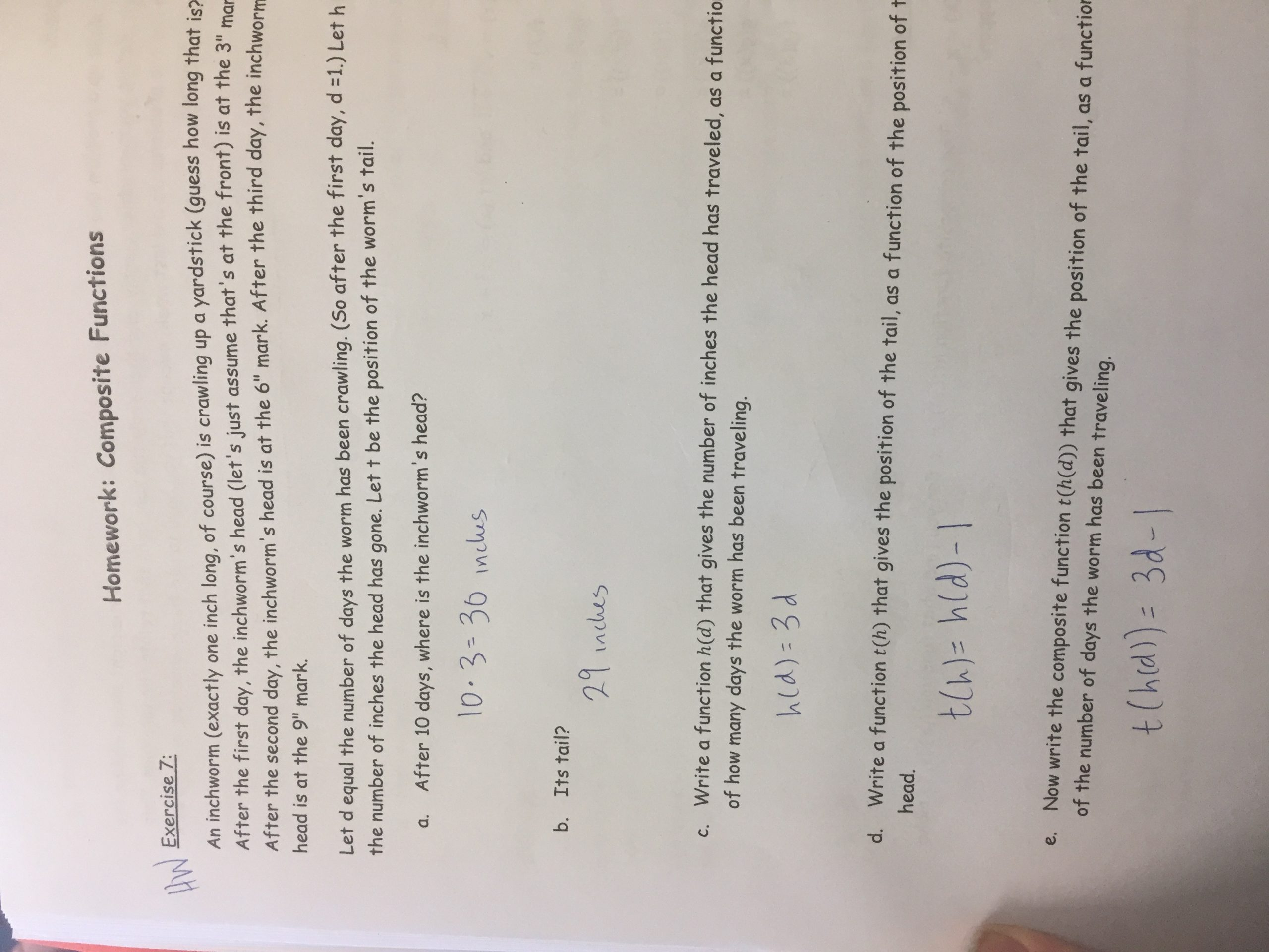 Function Notation Worksheet Answers Unit 1 Functions Lizzy S Classroom