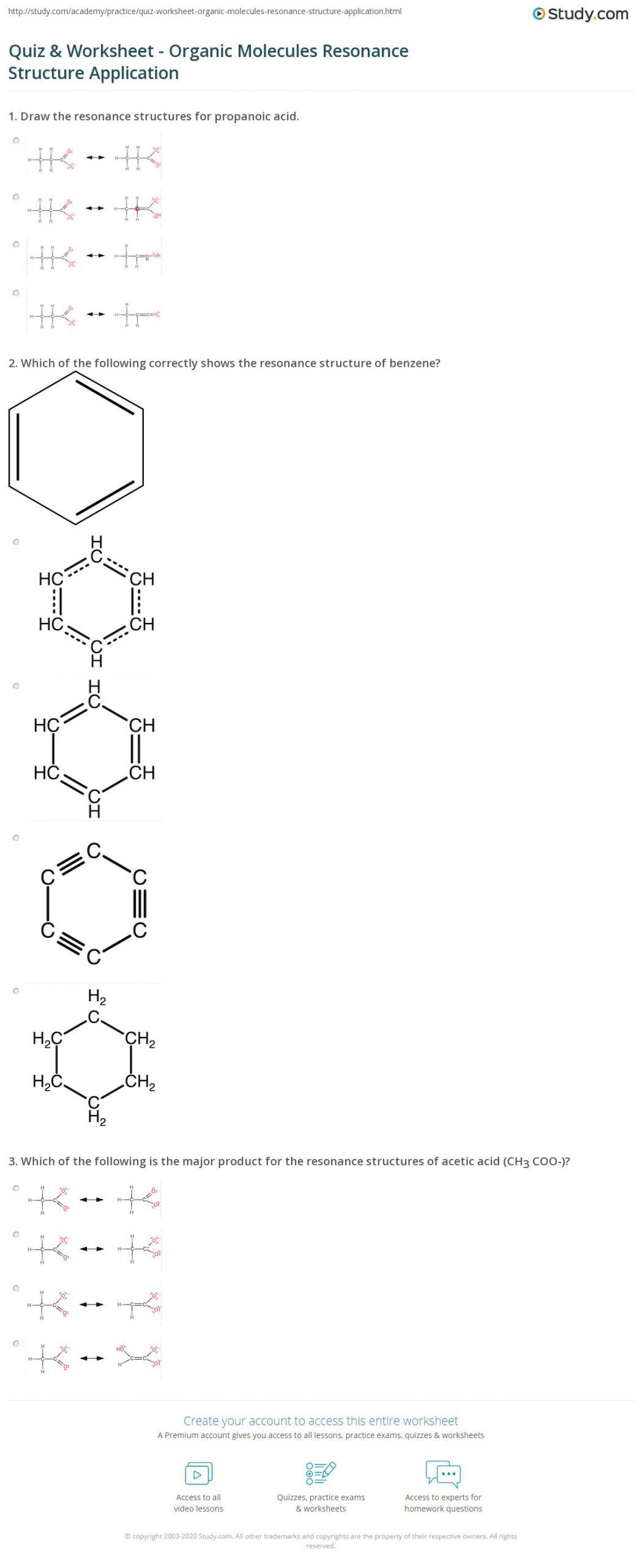Functional Group Practice Worksheet Drawing organic Structures Worksheet