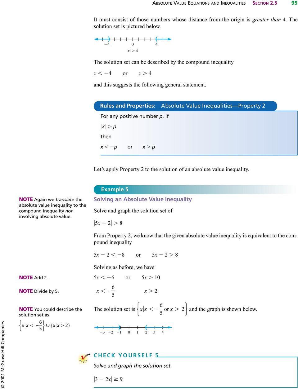 Graphing Absolute Value Inequalities Worksheet Absolute Value Equations and Inequalities Pdf Free Download