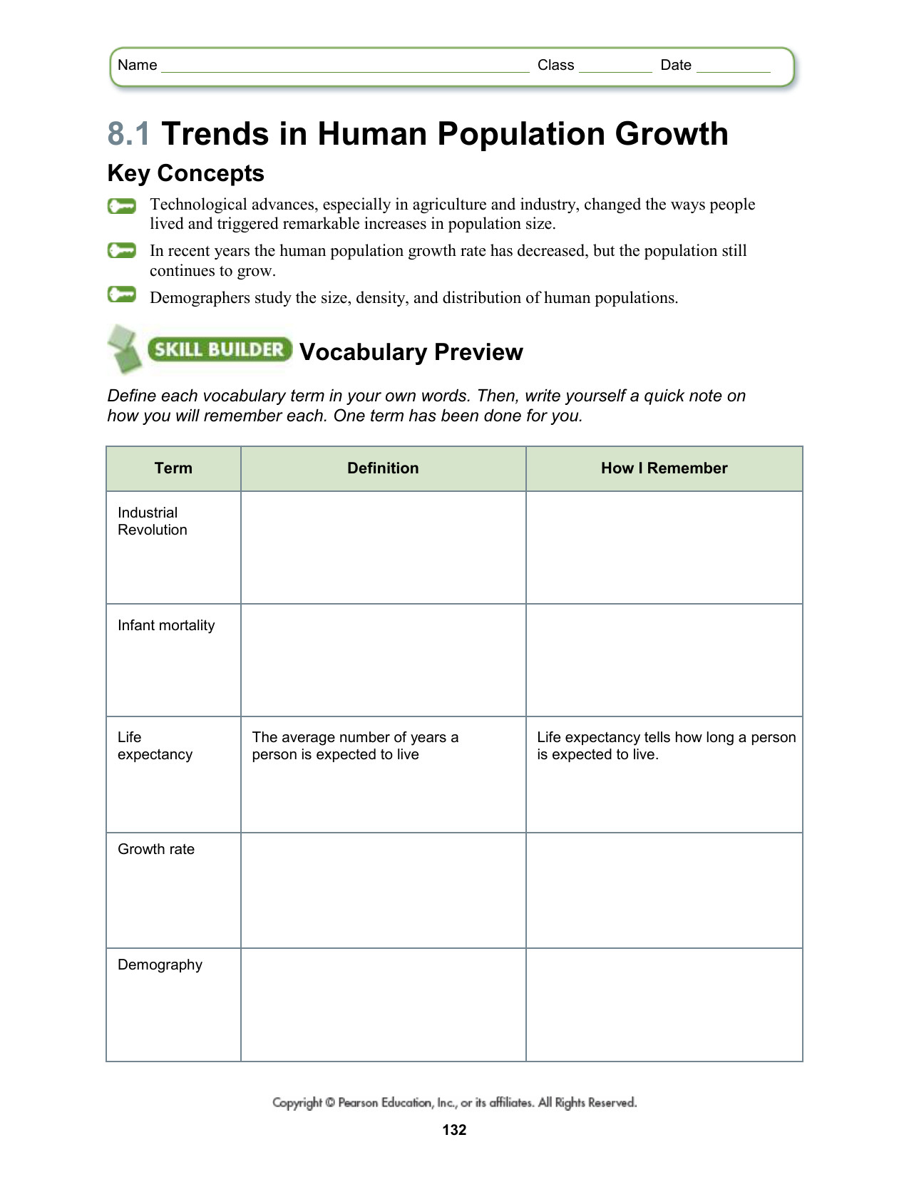 Human Population Growth Worksheet Answer Human Growth Stages Worksheet