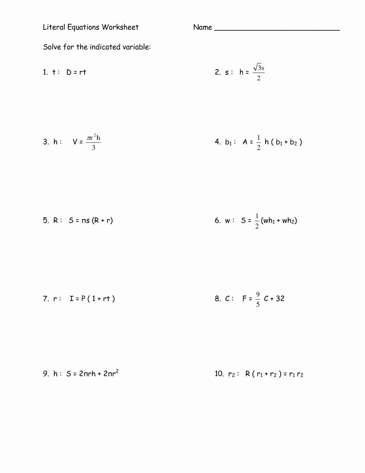 Linear Word Problems Worksheet Linear Programming Word Problems Worksheet