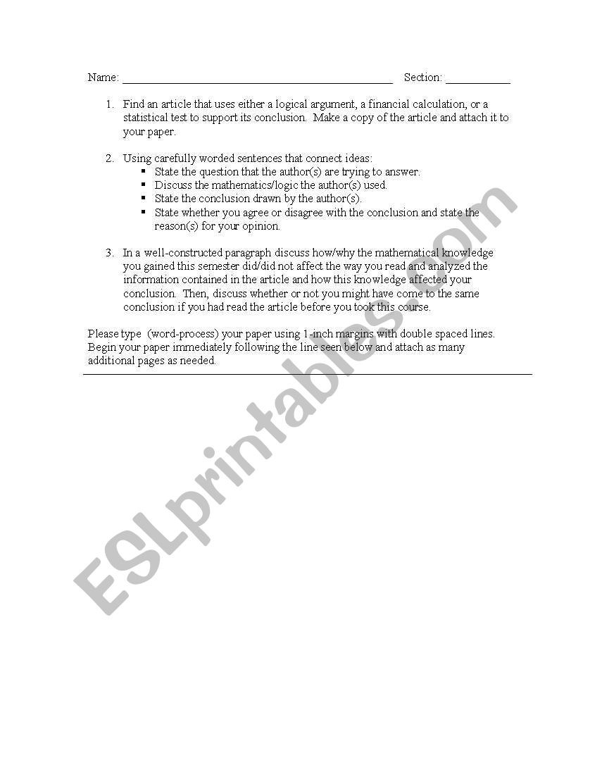 Logical Fallacies Worksheet with Answers English Worksheets Logical Fallacies