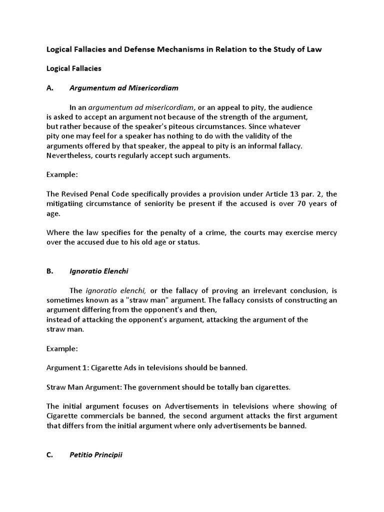 Logical Fallacies Worksheet with Answers Pin On Example Study Worksheet Answer Key