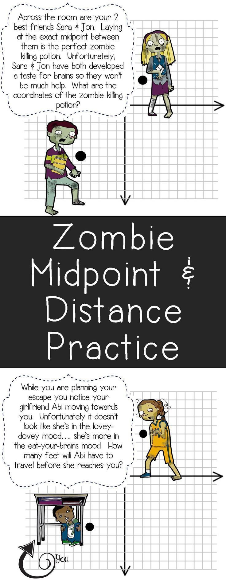 Midpoint and Distance Worksheet Midpoint & Distance formula Activity