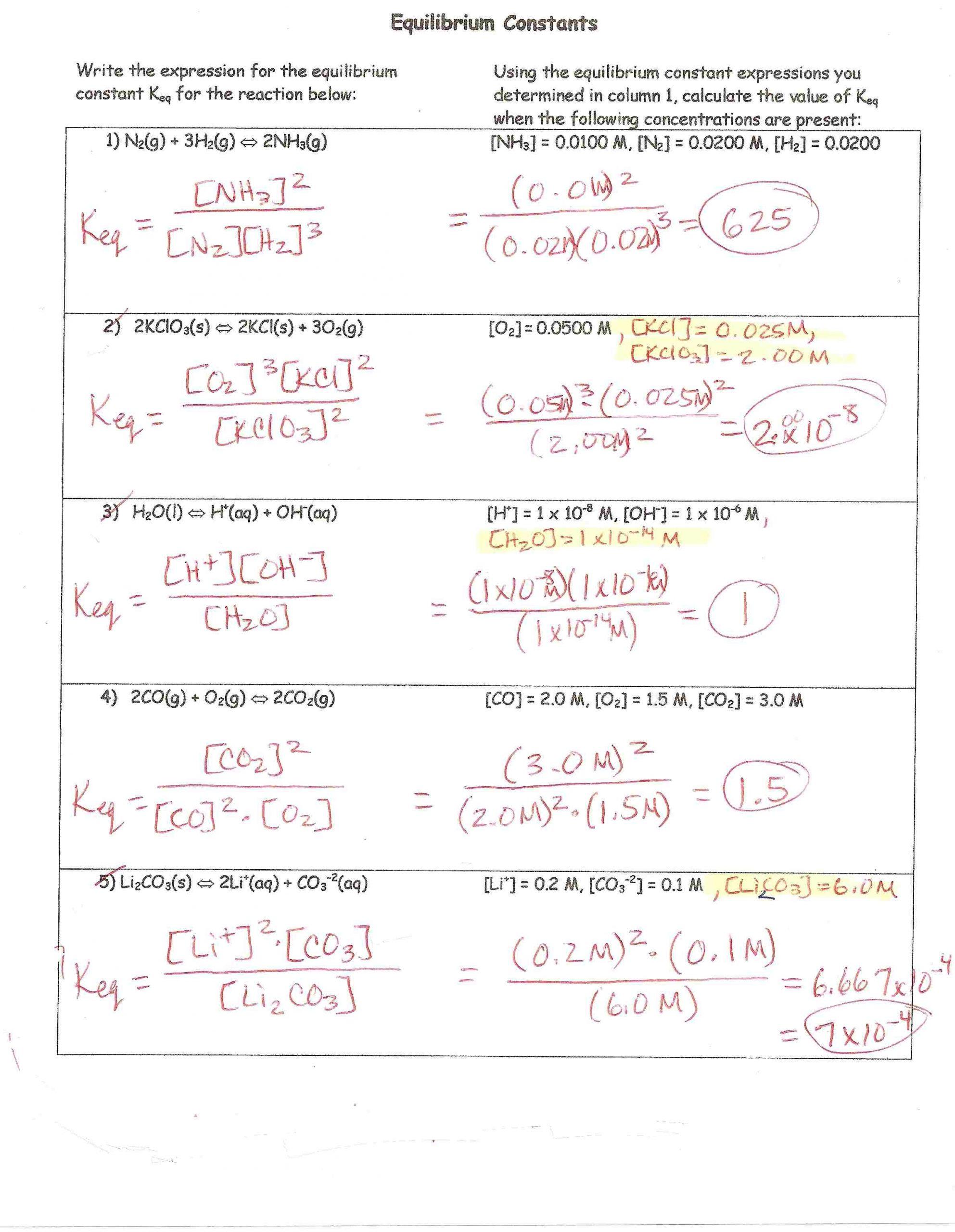 Molarity Practice Worksheet Answer H Chem Keys