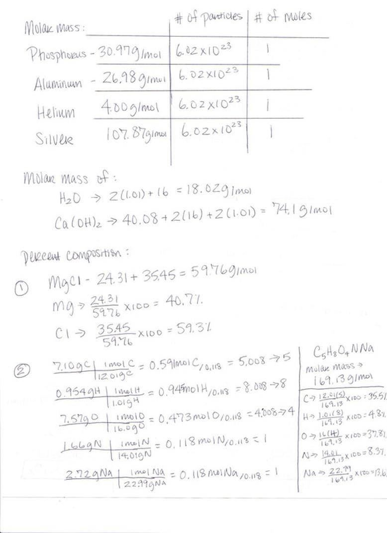 Mole Worksheet 1 100 [ Moles Conversion Worksheet ]
