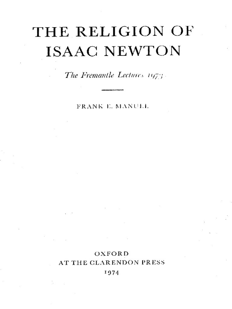 Newton039s Second Law Worksheet Answers Frank E Manuel the Religion Of isaac Newton the