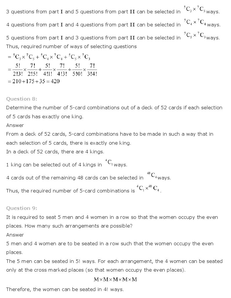 Permutations and Combinations Worksheet Simple Permutations and Binations Worksheet Answers