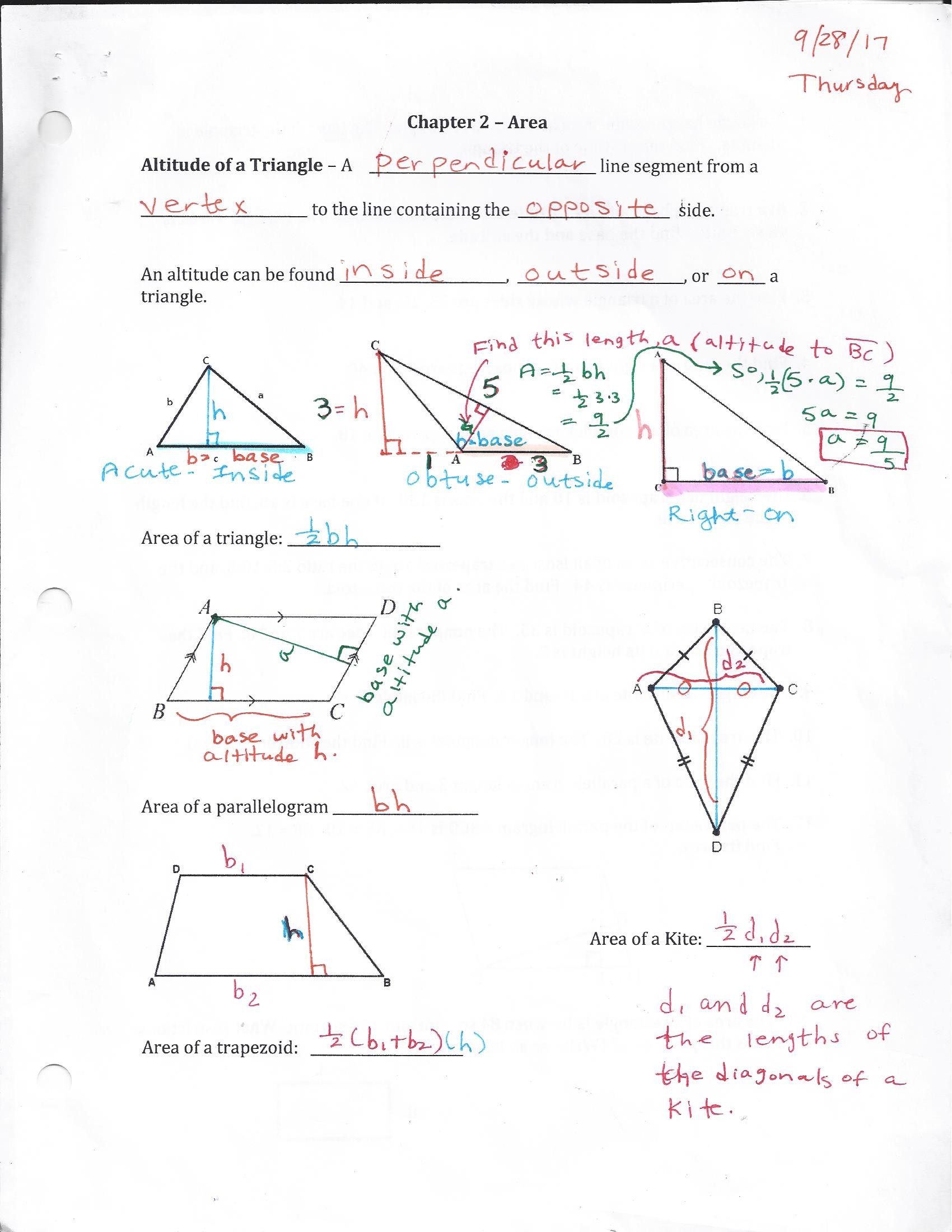 Points Of Concurrency Worksheet Geometry Homework 2017 2018 Old but Want to Use Mrs