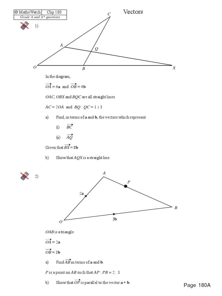 Points Of Concurrency Worksheet Vectors Worksheet A astar Clip 180