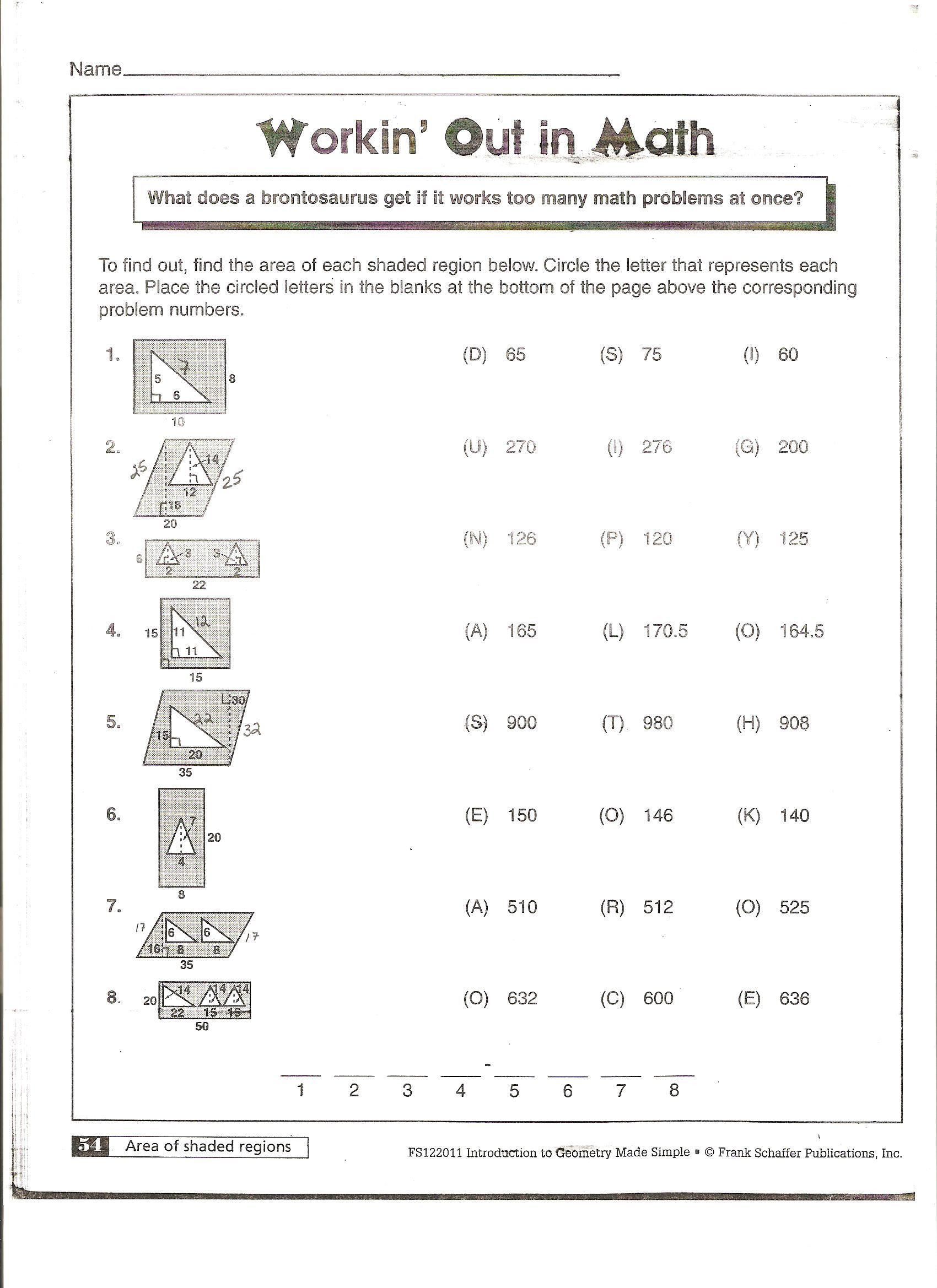 Polygon and Angles Worksheet Mcanelly S Geometry 2010 11