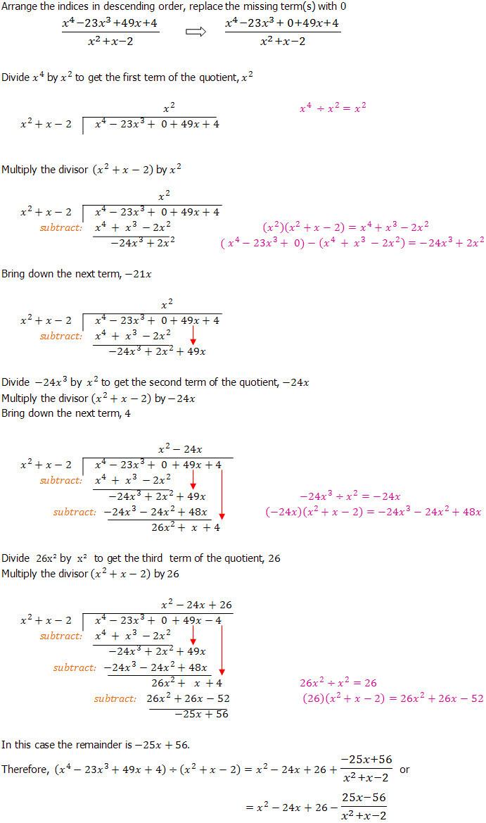 Polynomial Long Division Worksheet Algebraic Long Division An Introduction Dividing