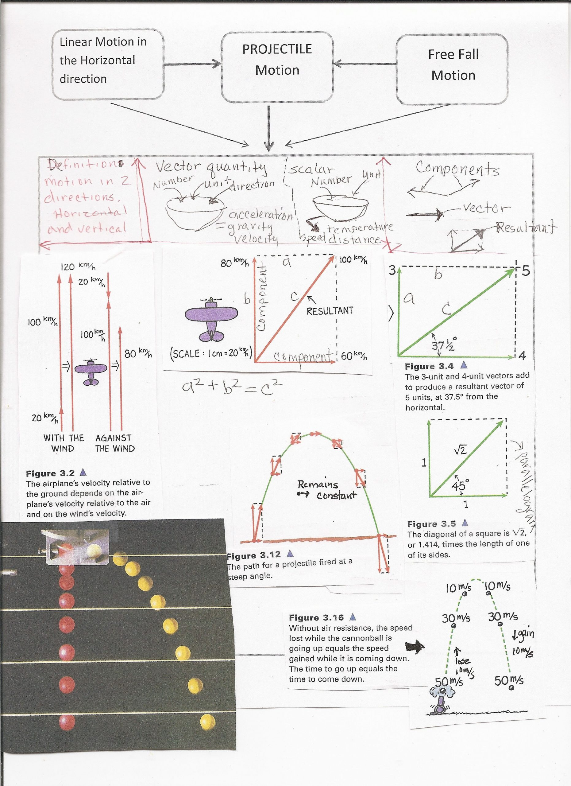 Projectile Motion Worksheet Answers Image Result for Conceptual Physics Projectile Motion Test A