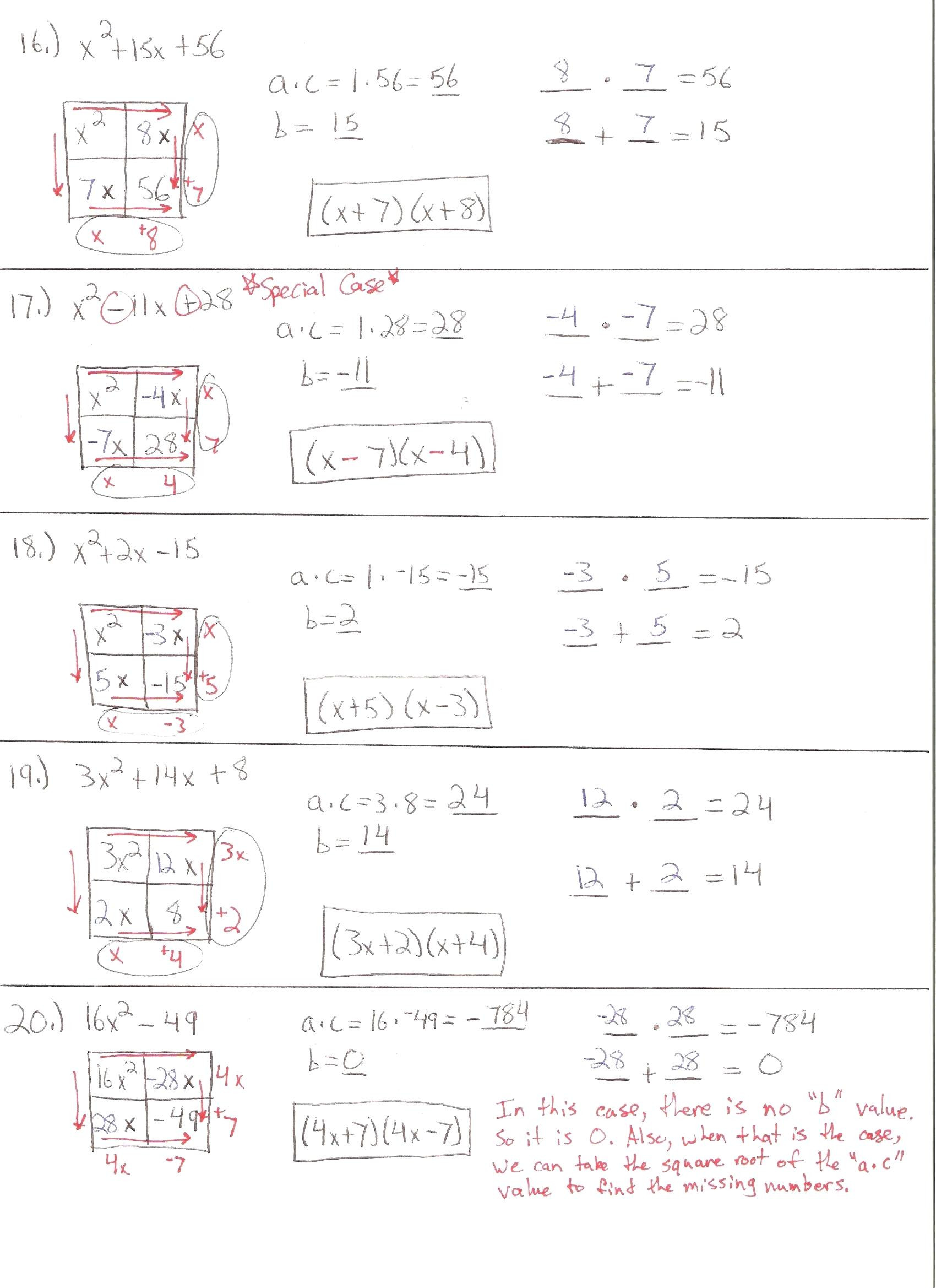 Quadratic Equation Worksheet with Answers the Quadratic formula Worksheet Answers Promotiontablecovers