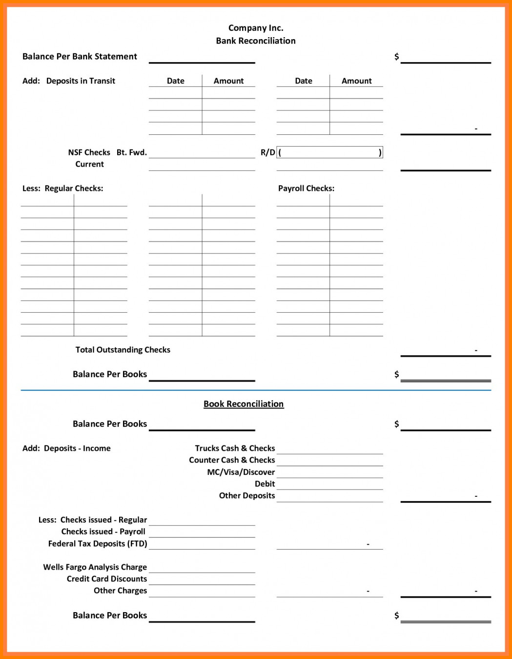 Reconciling A Bank Statement Worksheet Bank Reconciliation Practice Worksheets