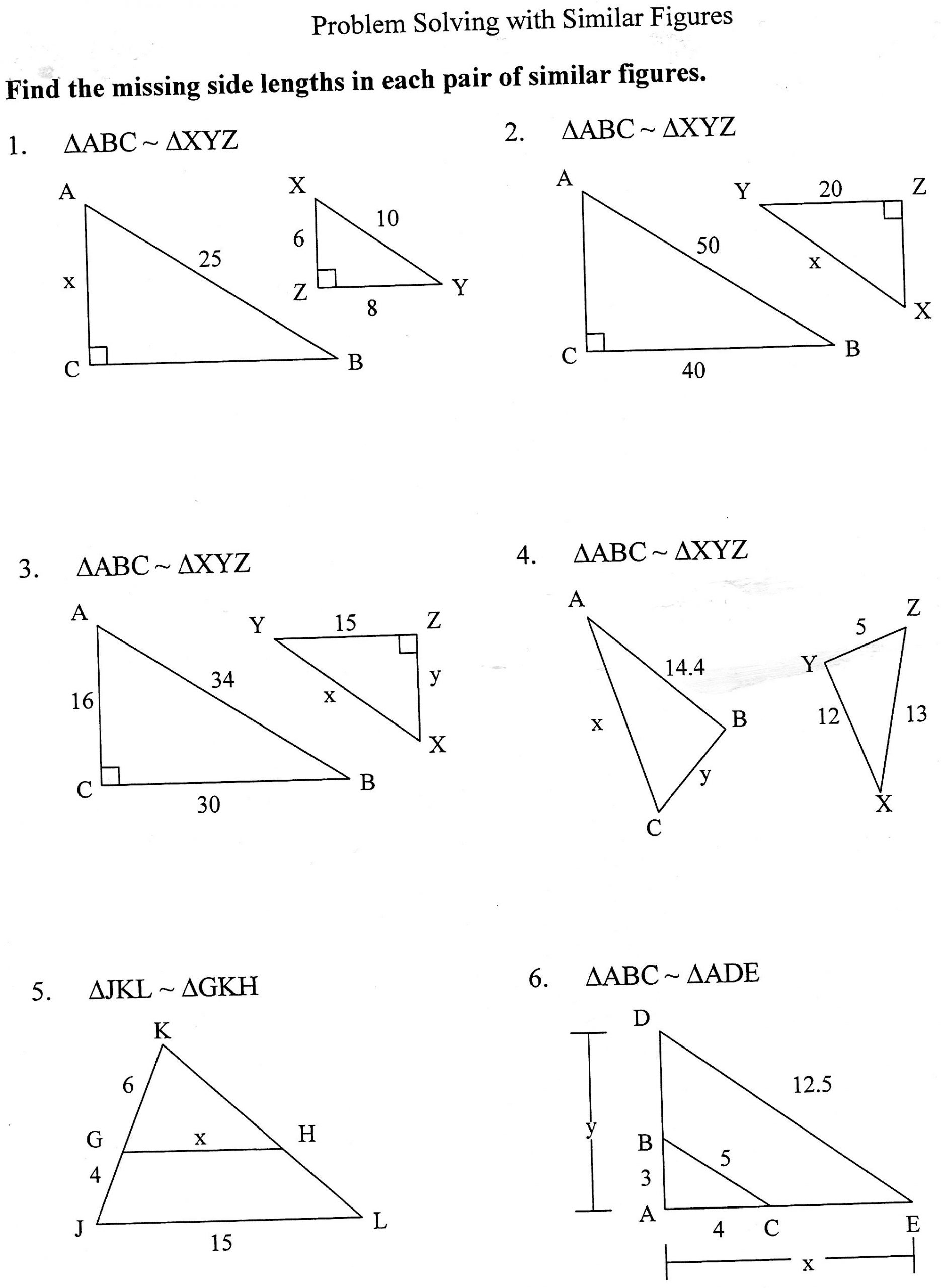 Scale Factor Worksheet 7th Grade 29 Similar Shapes and Scale Drawings Worksheet Worksheet