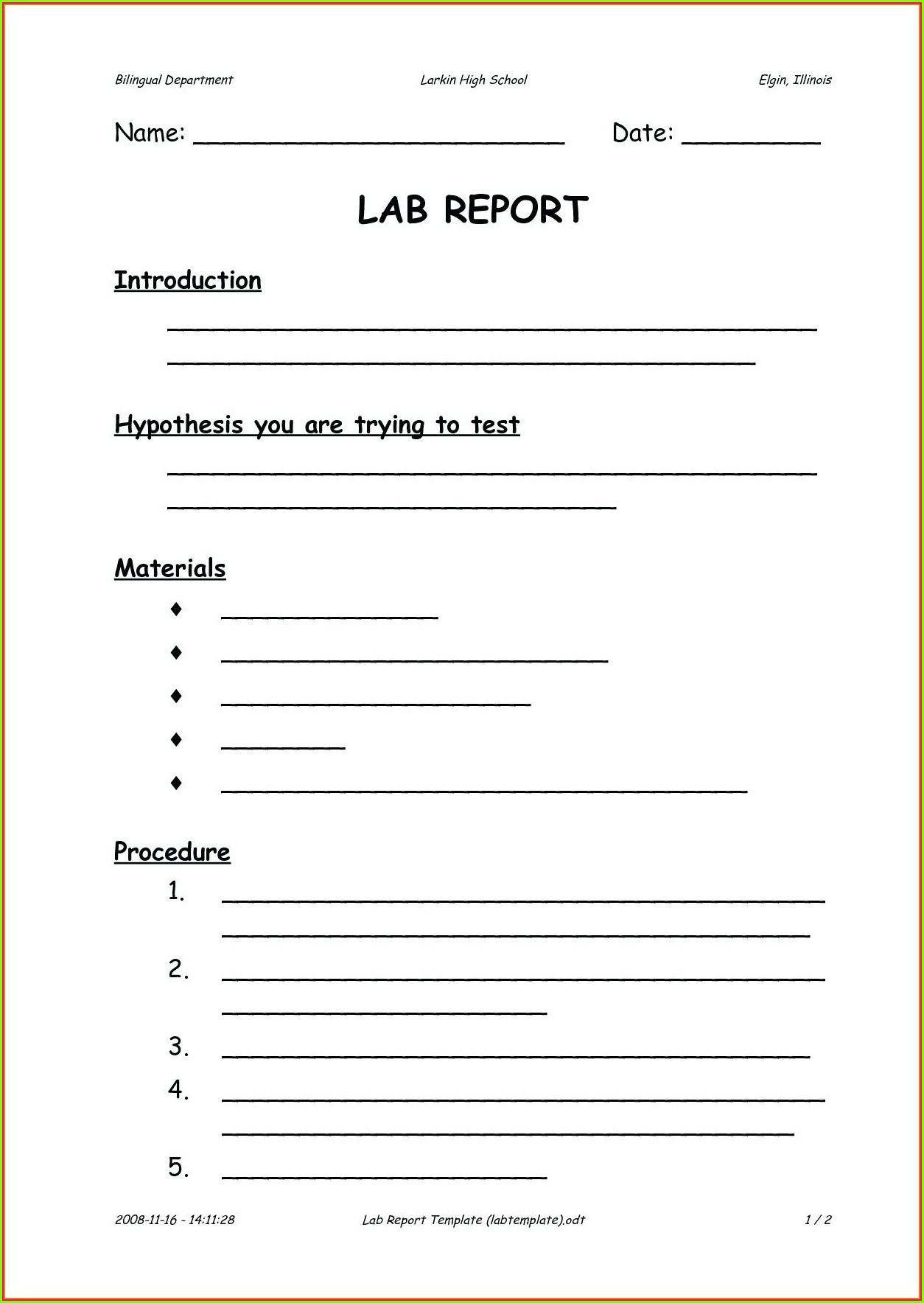 Scientific Method Worksheet 4th Grade High School Scientific Method Worksheet Printable Worksheets
