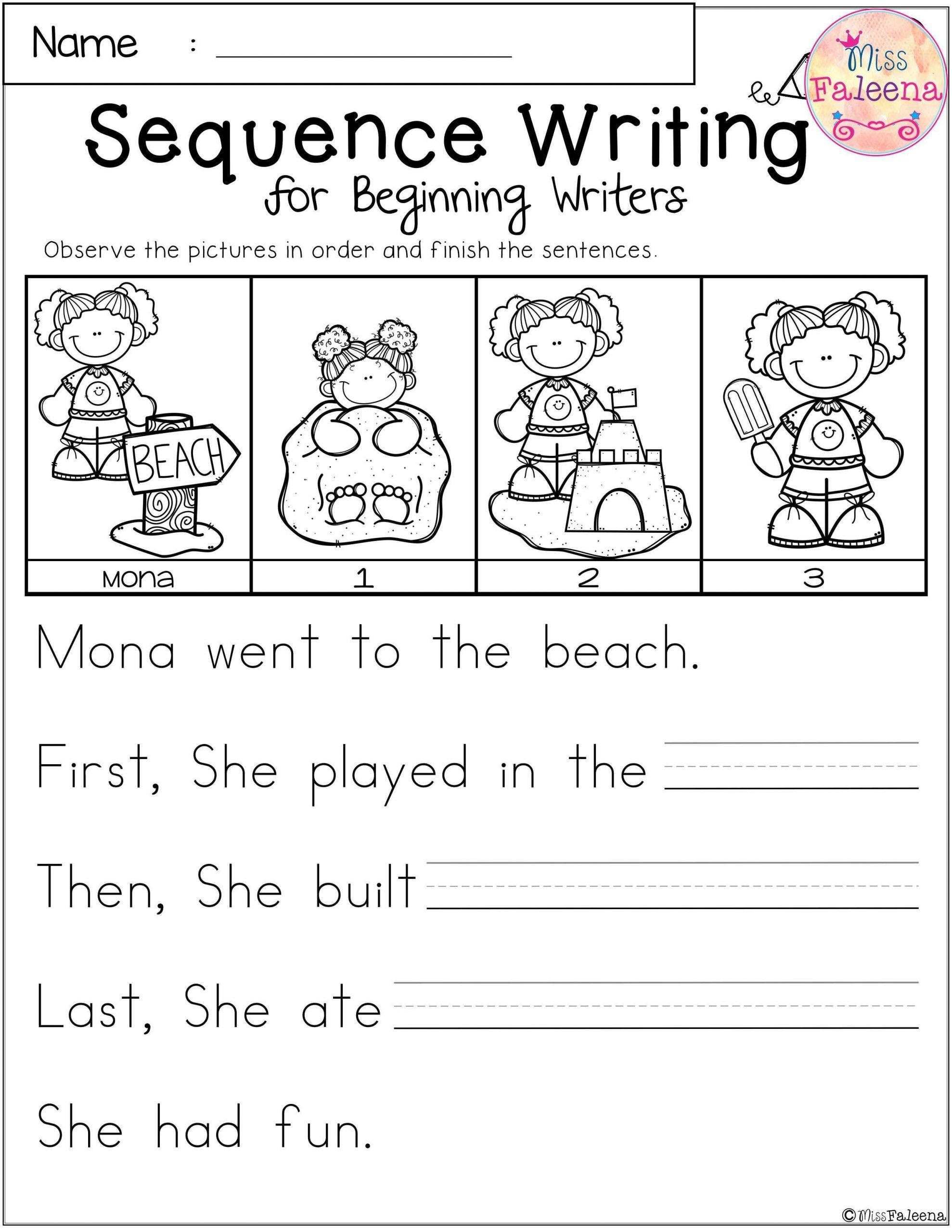 Sequence Of events Worksheet 20 Sequencing Worksheet for Kindergarten