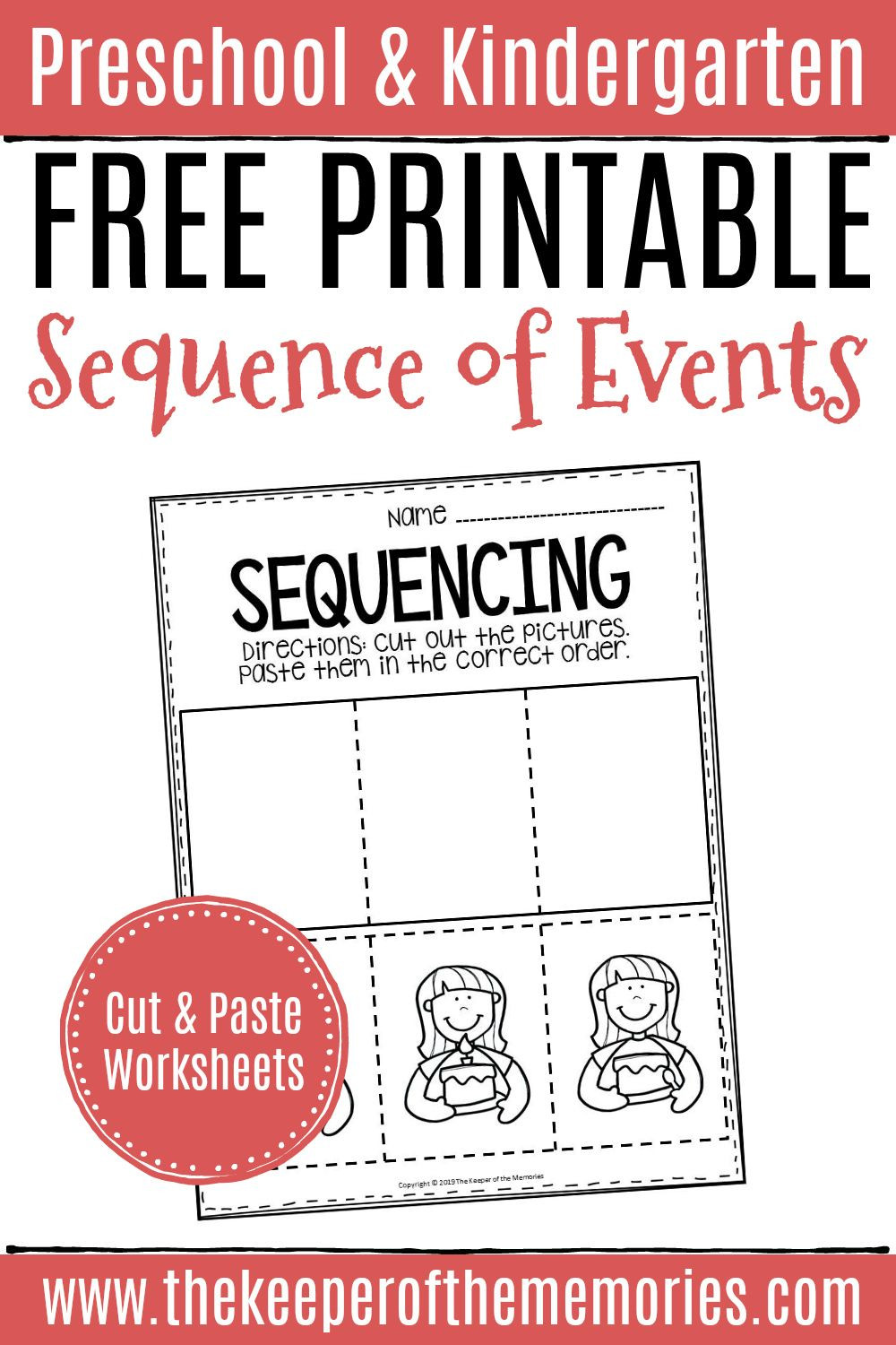 Sequence Of events Worksheet Free Printable Sequence Of events Worksheets