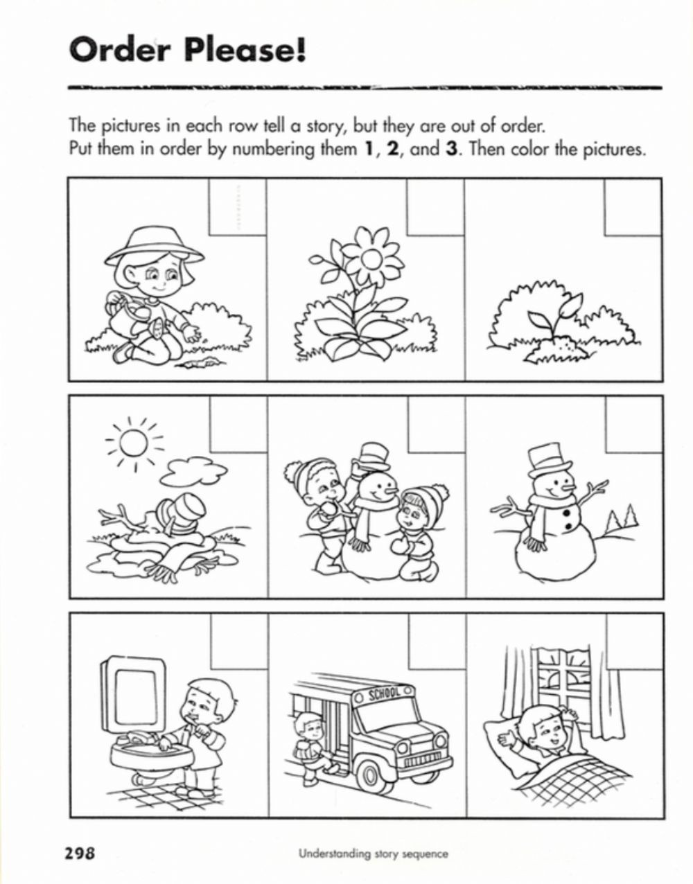 Sequence Of events Worksheet Sequences Of events Interactive Worksheet