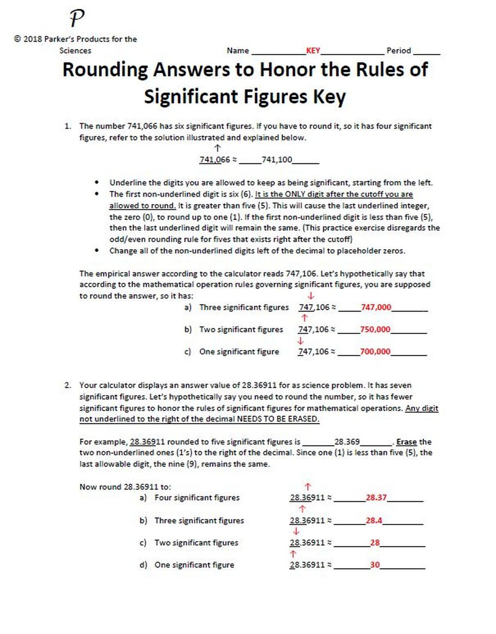 Significant Figures Practice Worksheet Rounding Numbers to Honor the Rules Of Significant Figures Practice Worksheet
