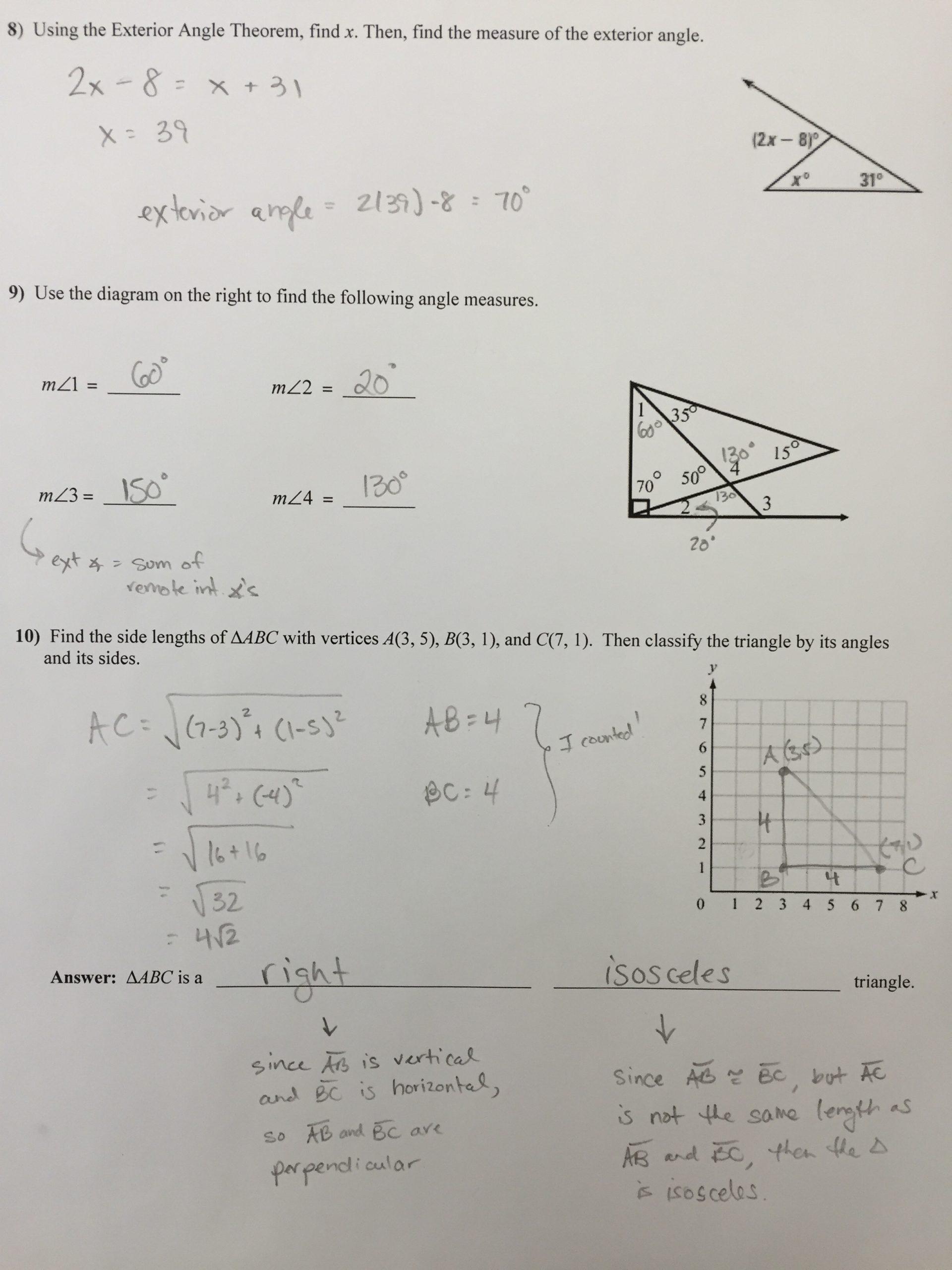 Similar Figures Worksheet Answer Key 7 2 Similar Polygons Worksheet Answer Key