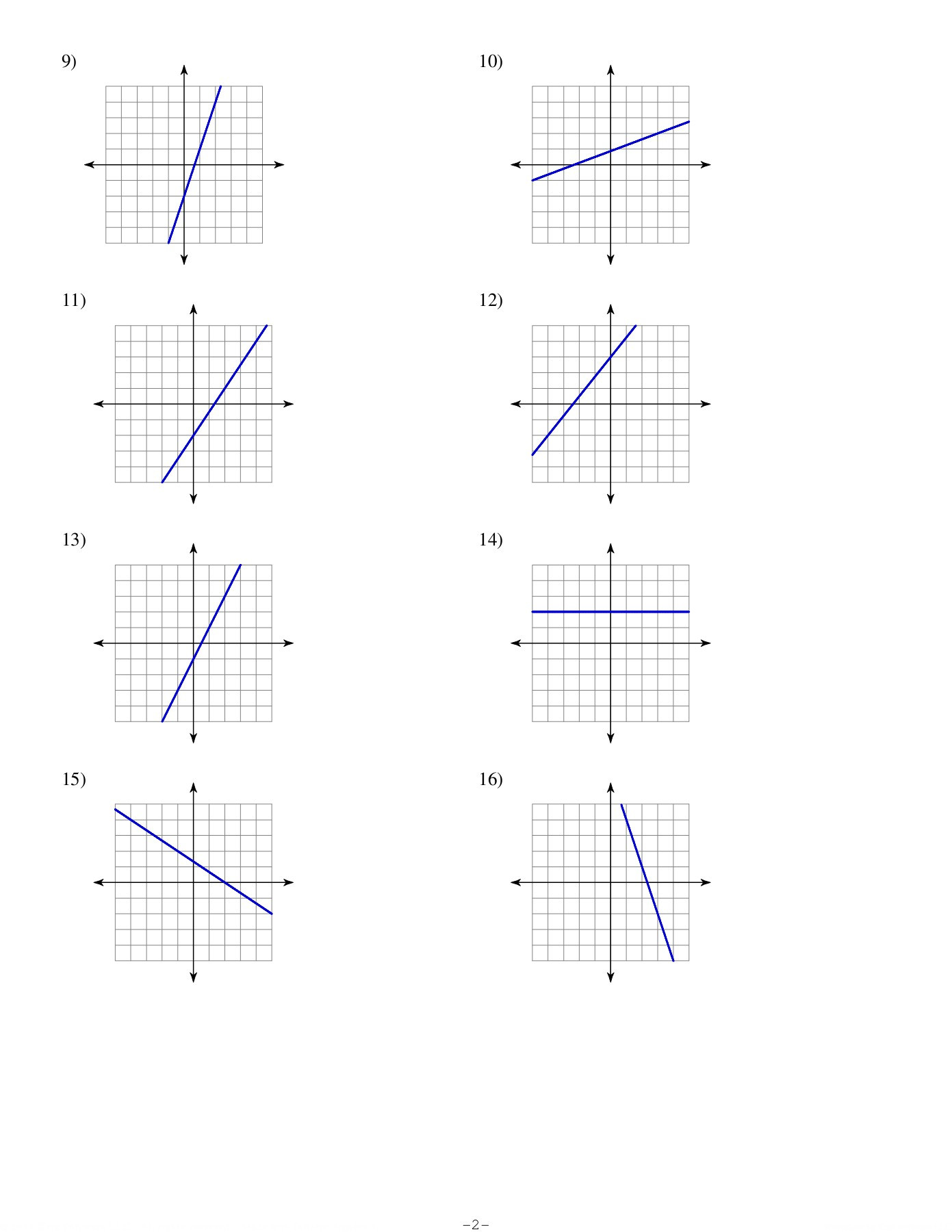 Slope From A Graph Worksheet Slope From A Graph Math with Ms Dallon Pages 1 4 Text