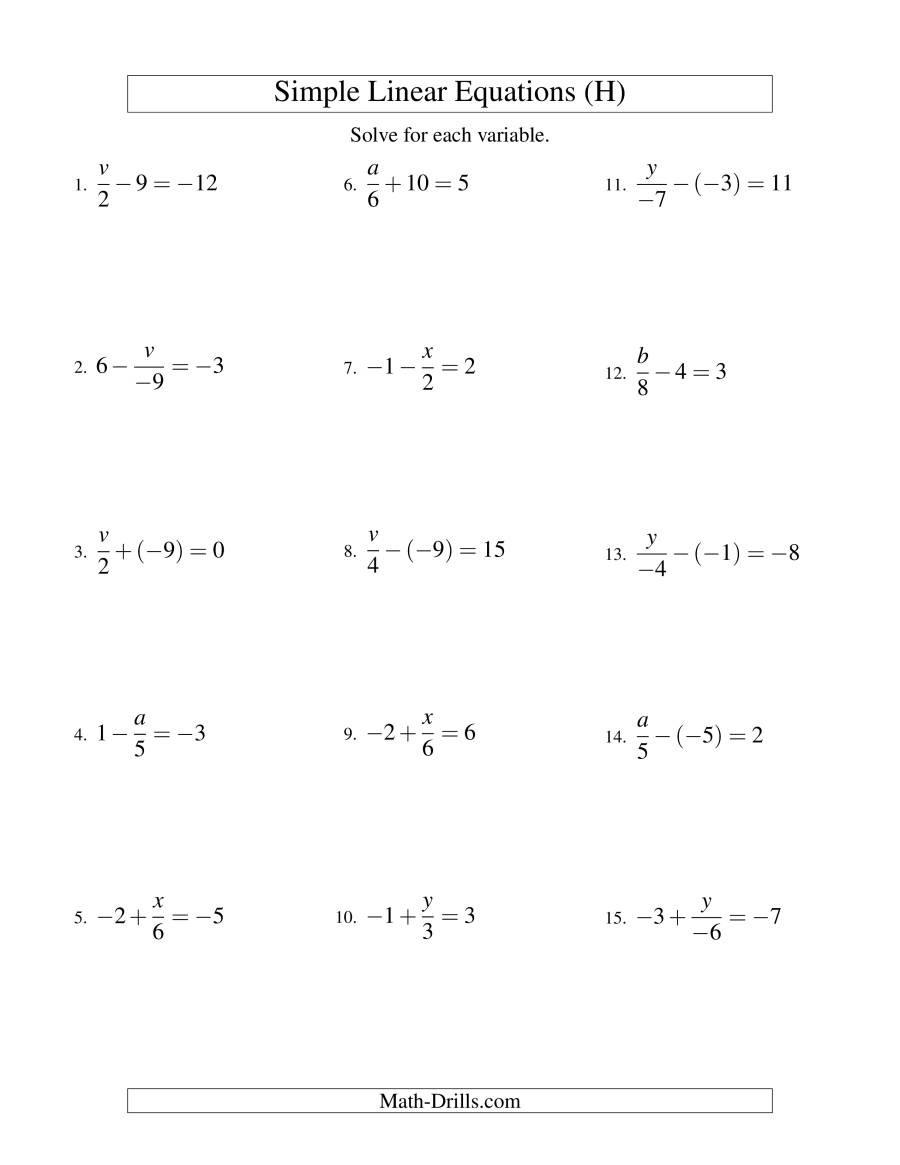 Solving Multi Step Inequalities Worksheet solving Multi Step Equations Variables Both Sides