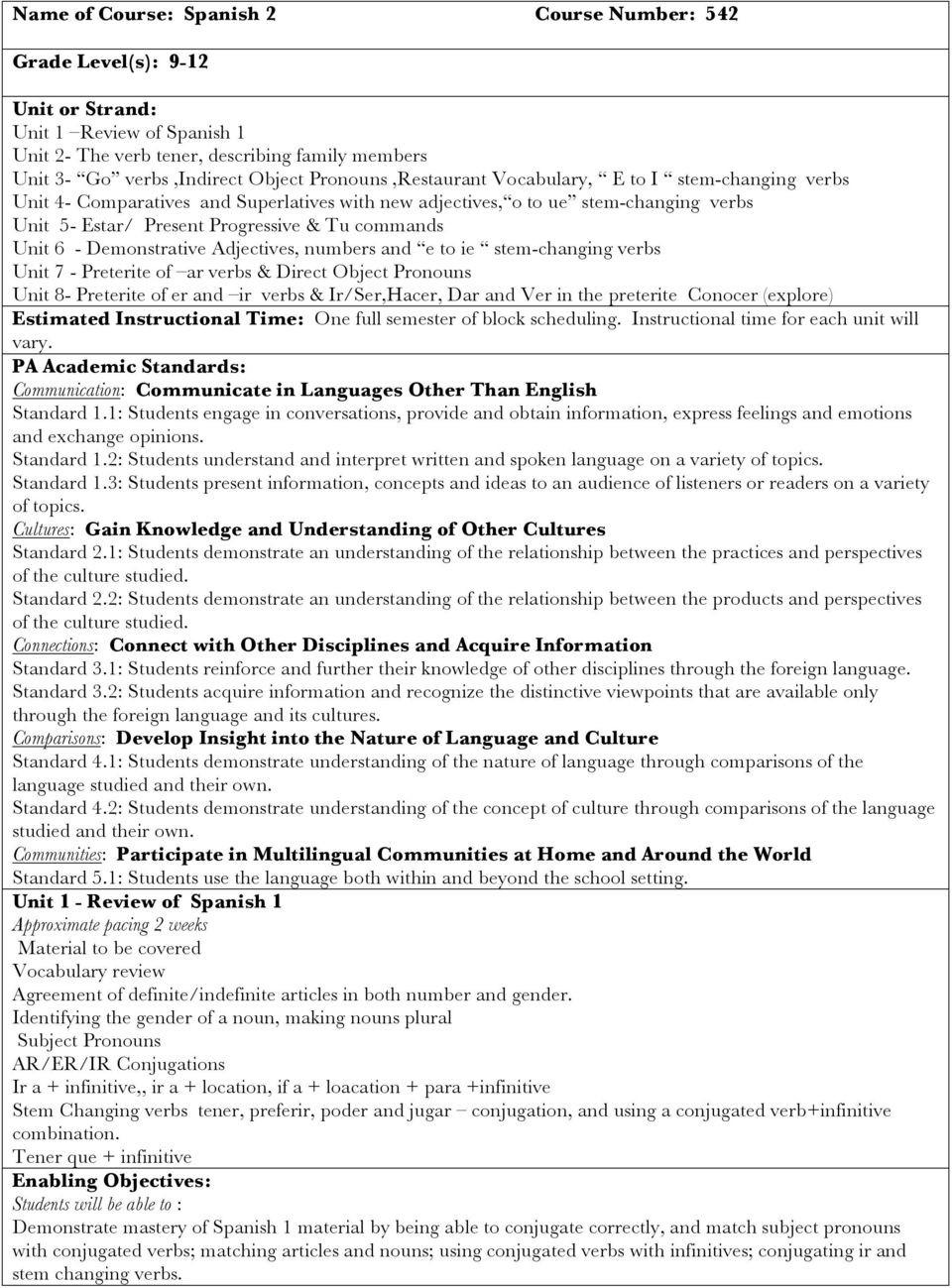 Stem Changing Verbs Worksheet Answers Stem Changing Verbs In Spanish Worksheet Answers